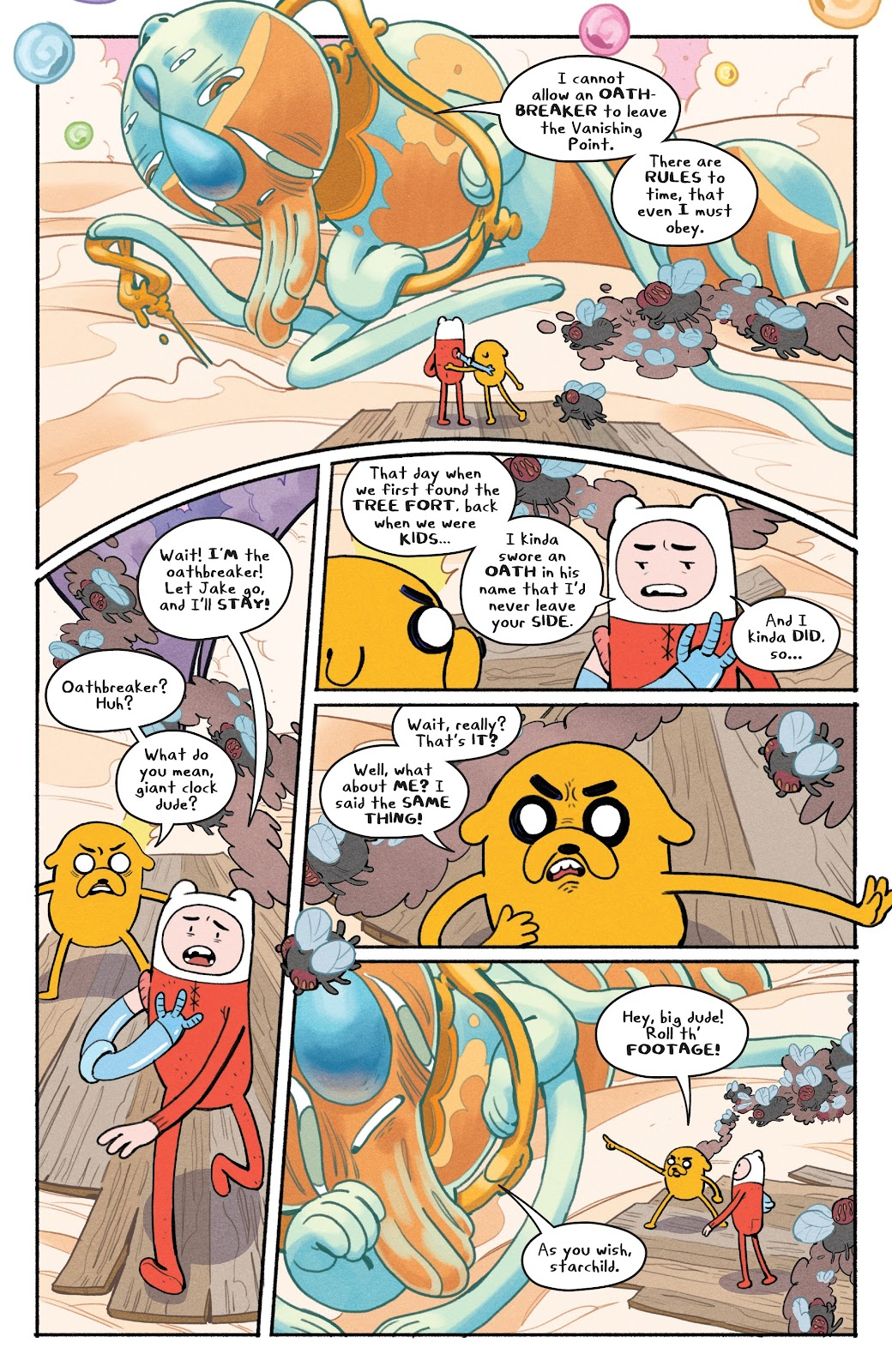 Read online Adventure Time: Beginning of the End comic -  Issue # _TPB - 69