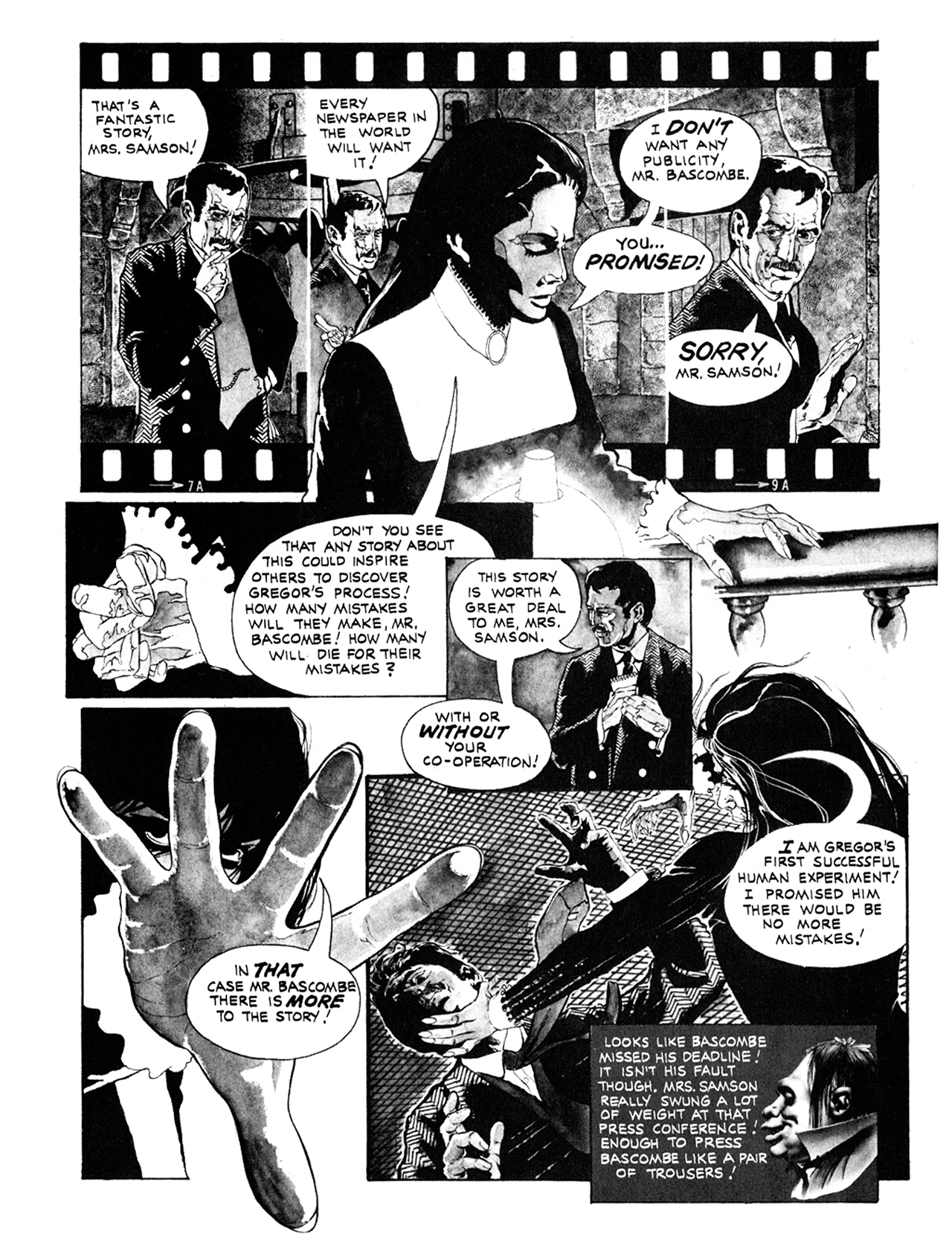 Read online Eerie Archives comic -  Issue # TPB 10 - 124