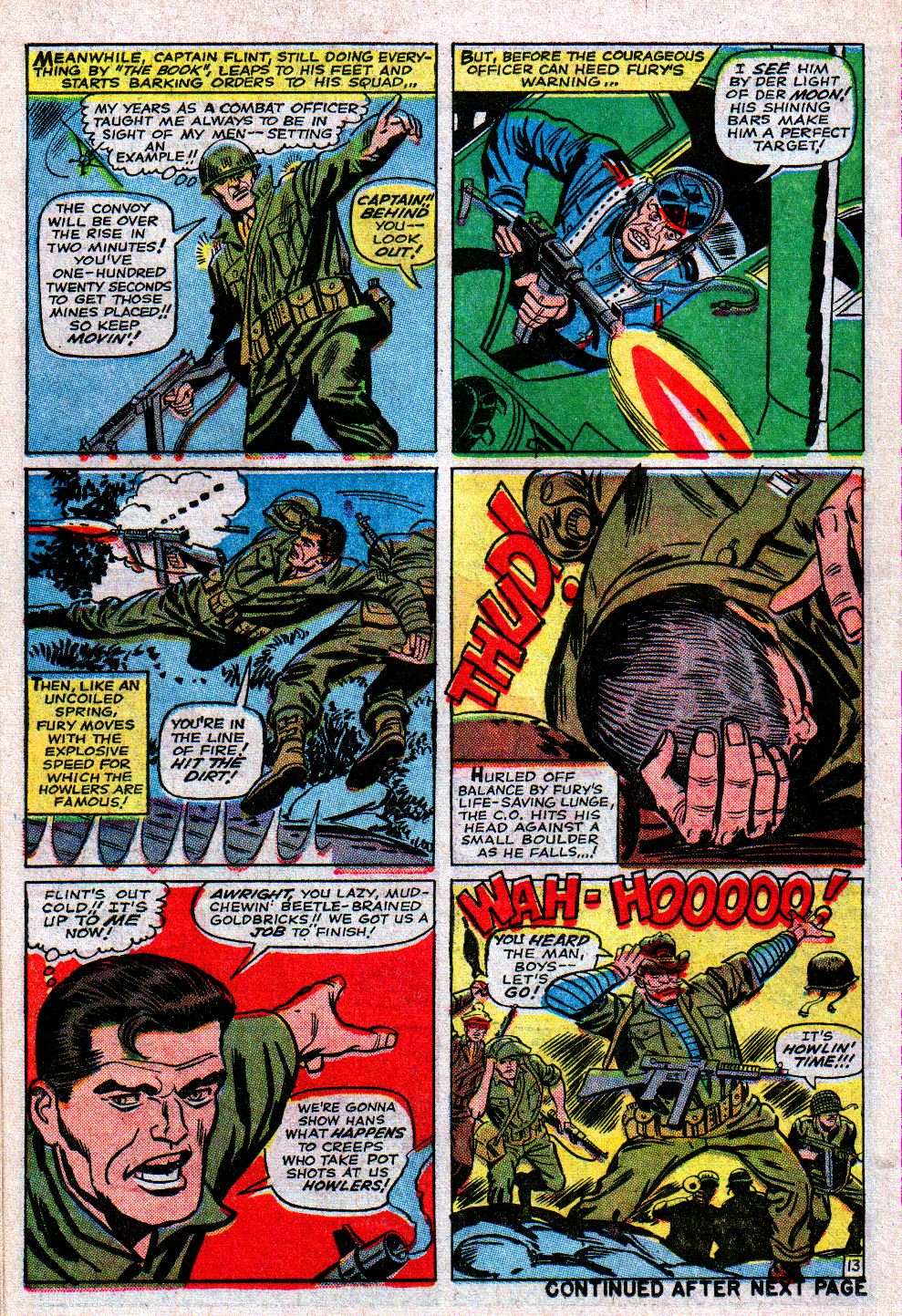 Read online Sgt. Fury comic -  Issue #11 - 18