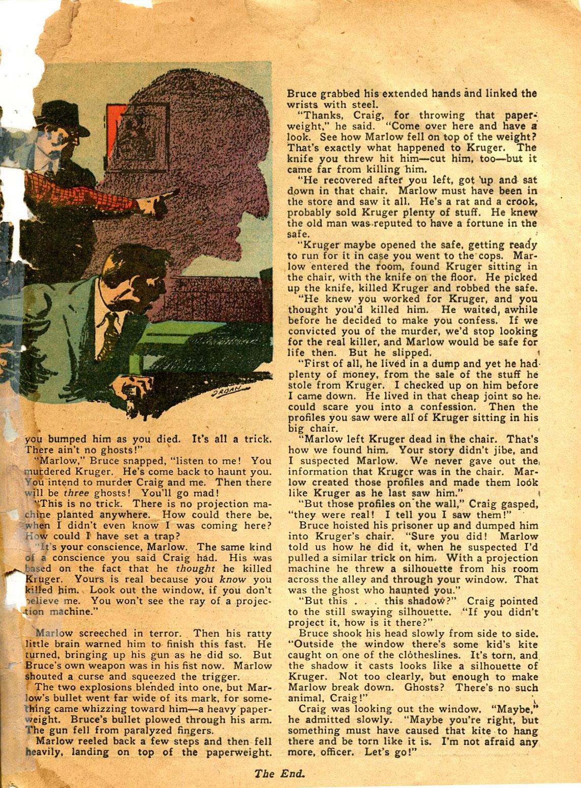 Read online Shadow Comics comic -  Issue #9 - 63