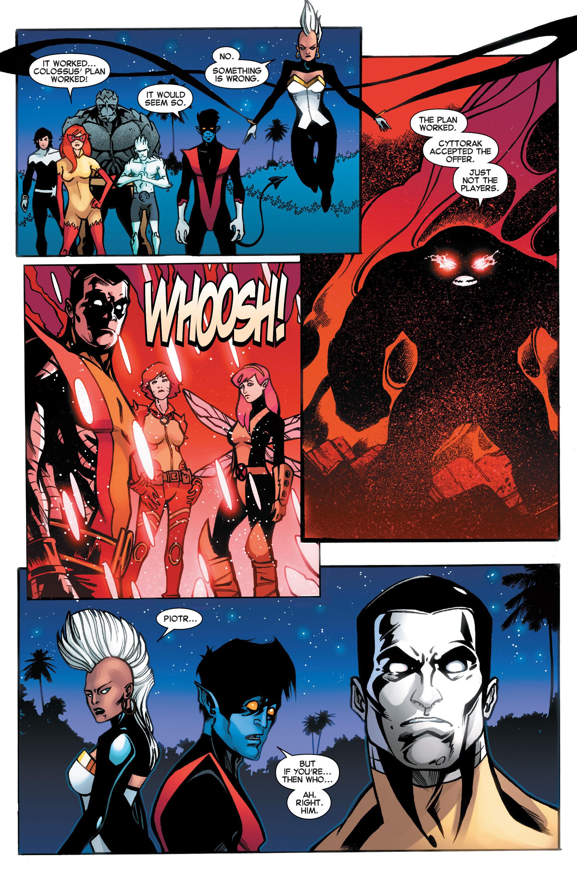 Read online Amazing X-Men (2014) comic -  Issue #18 - 21