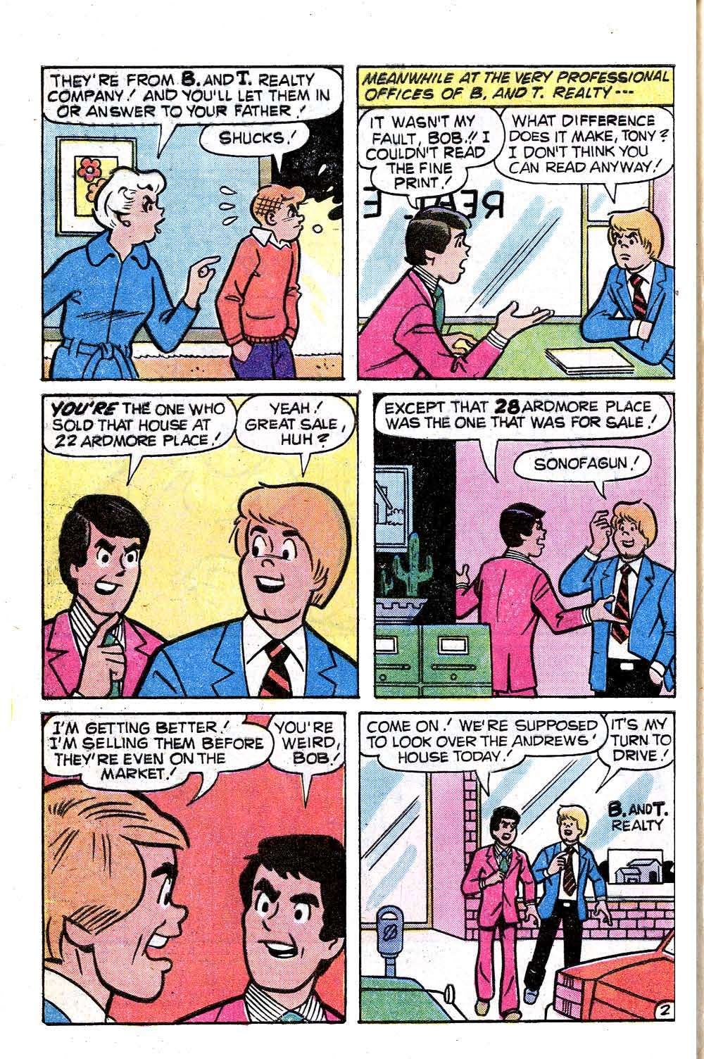 Read online Archie (1960) comic -  Issue #281 - 4