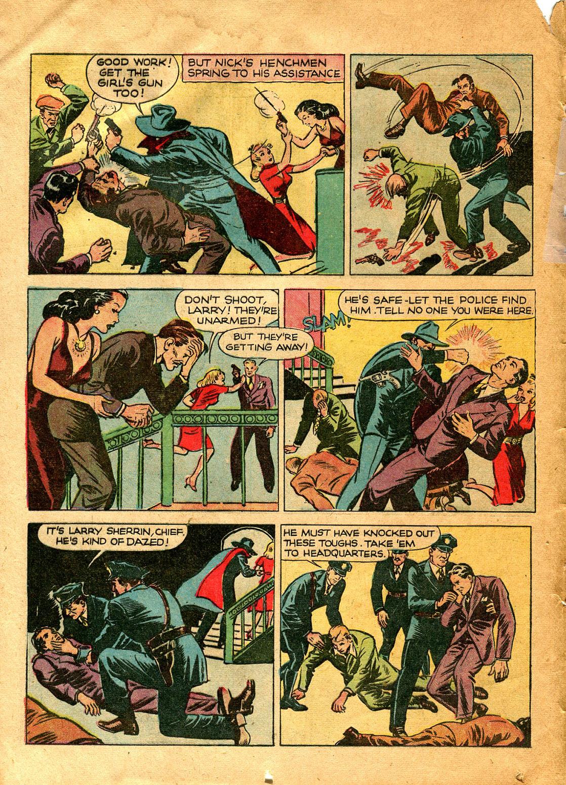 Read online Shadow Comics comic -  Issue #9 - 20