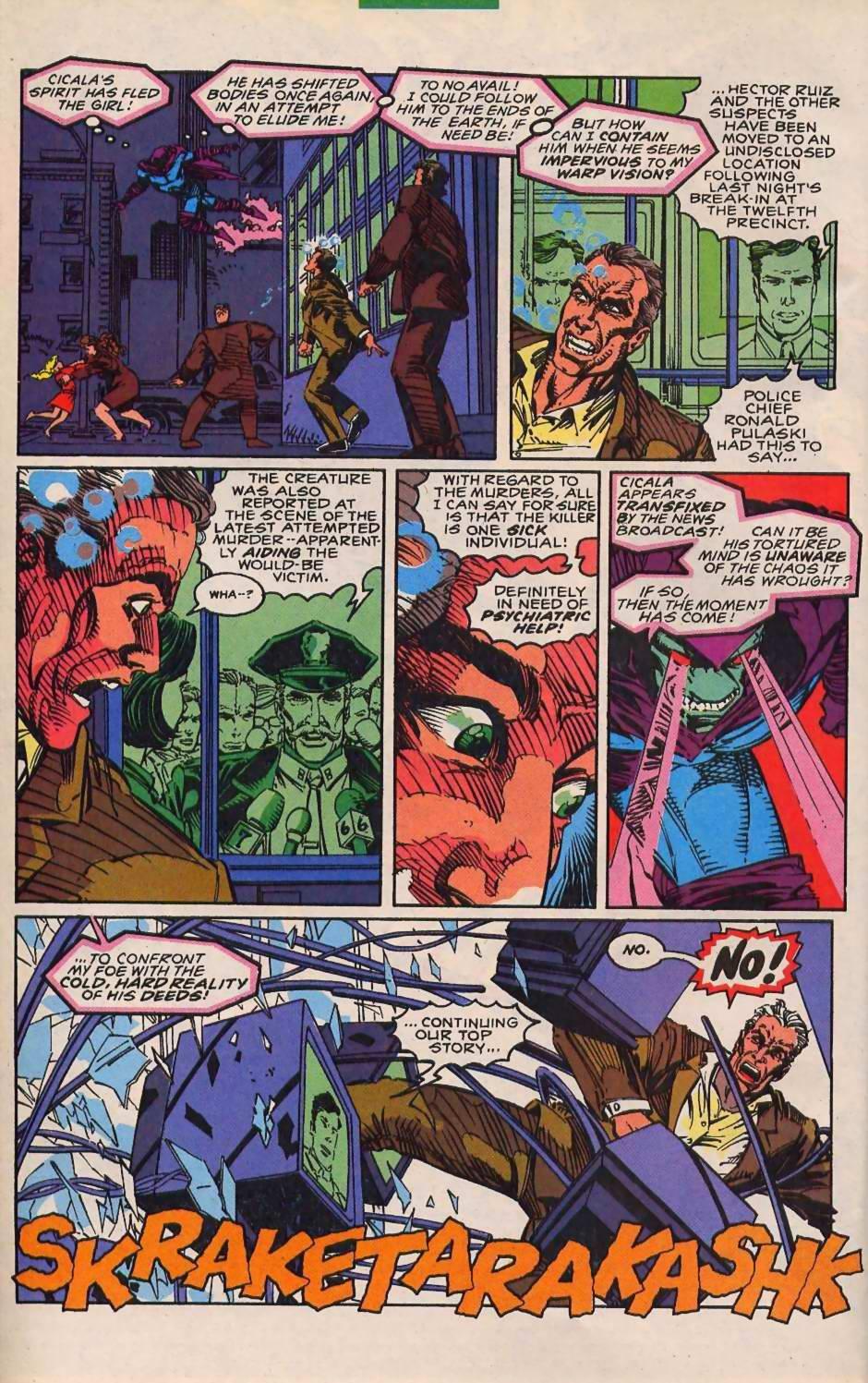 Read online Sleepwalker comic -  Issue #30 - 20