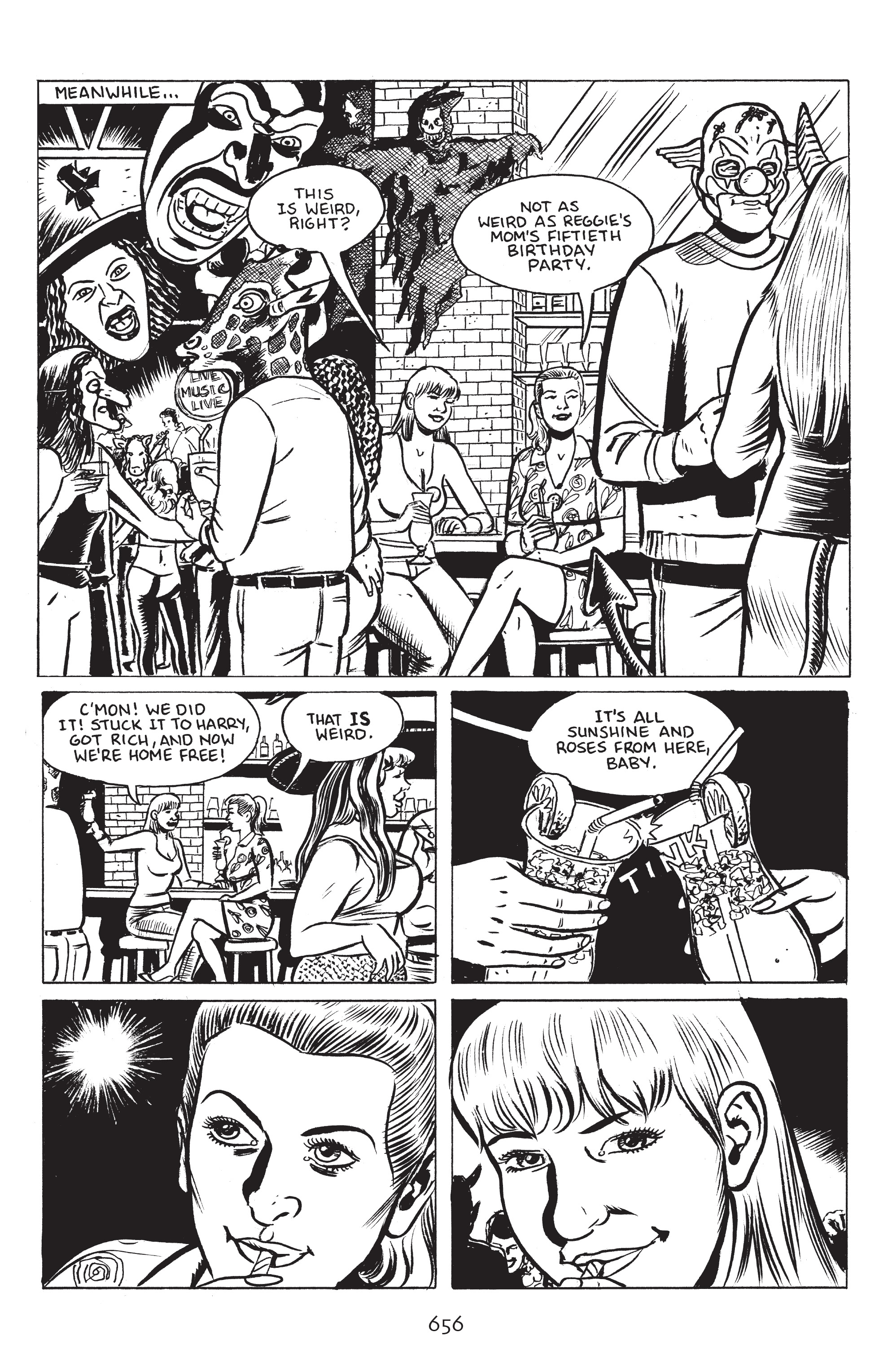 Read online Stray Bullets: Sunshine & Roses comic -  Issue #24 - 11