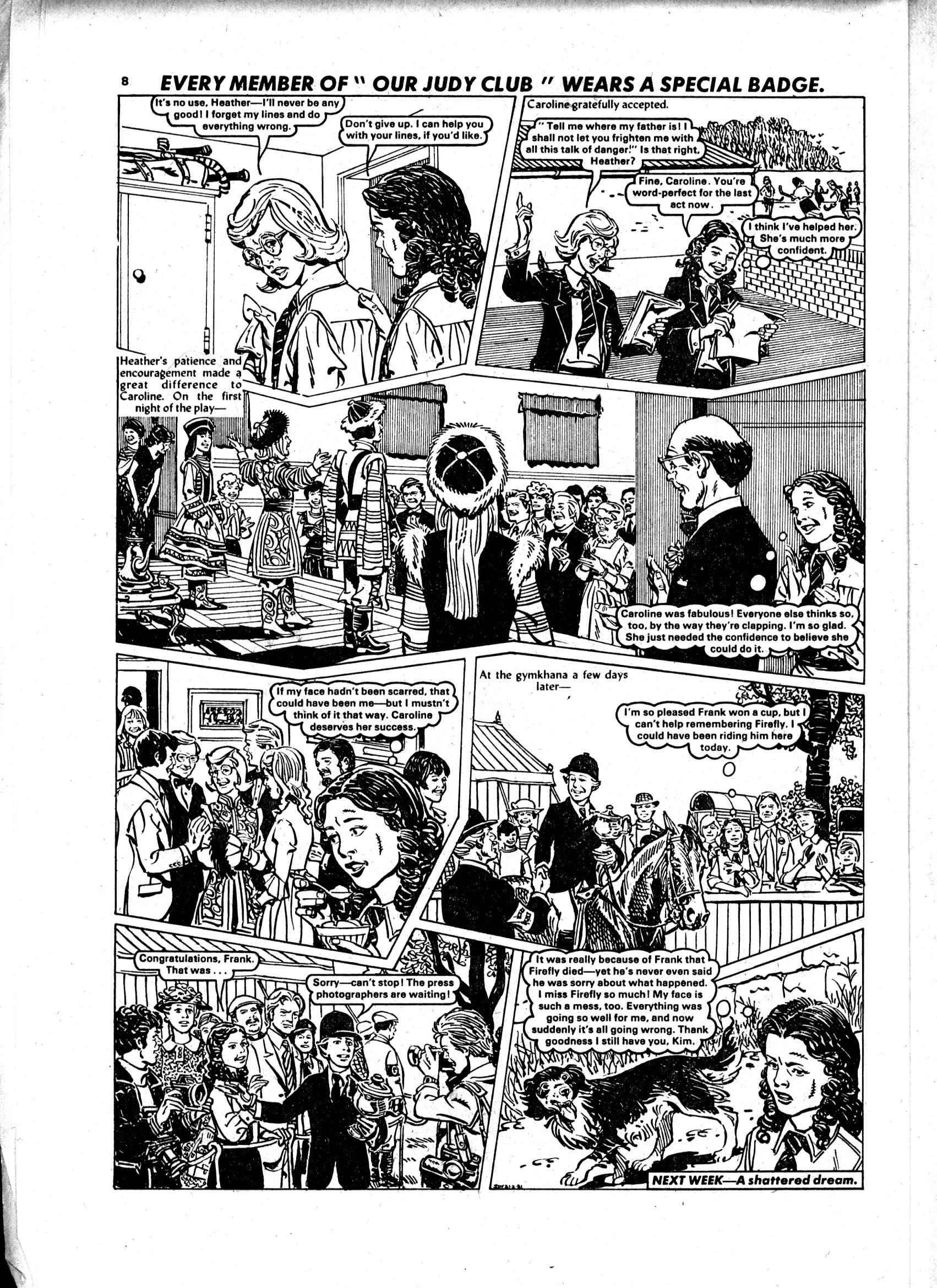 Read online Judy comic -  Issue #1102 - 8