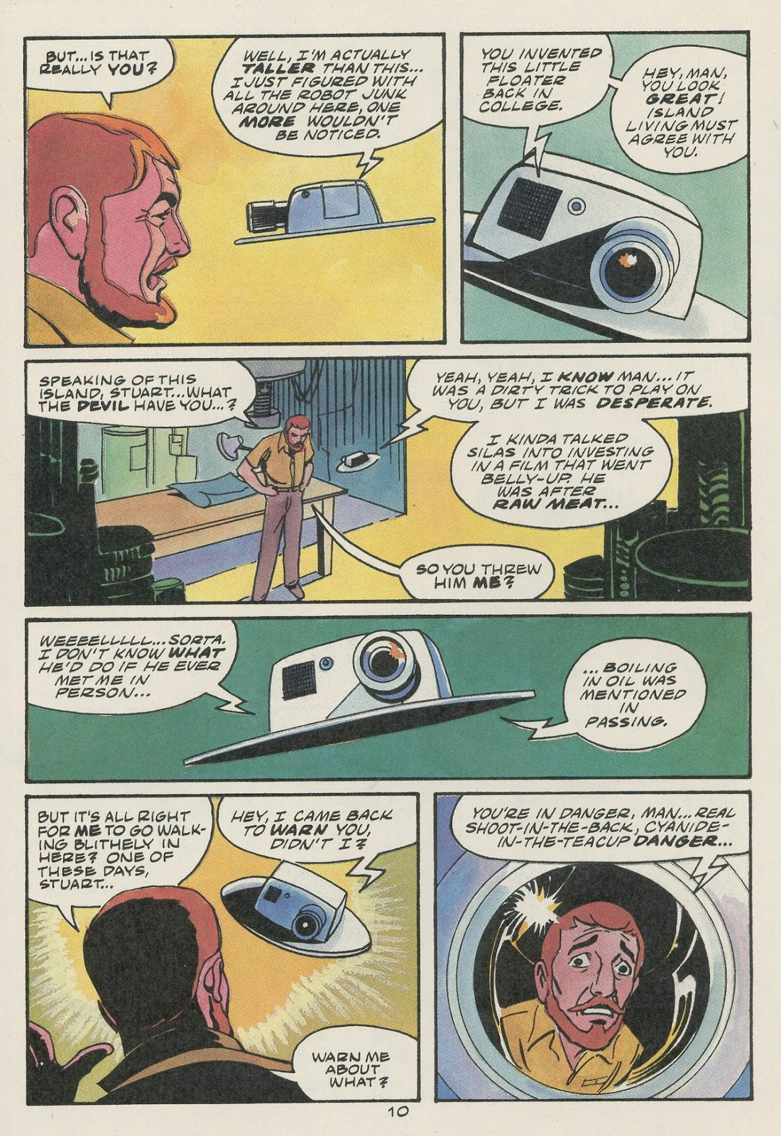 Jonny Quest (1986) issue 17 - Page 12