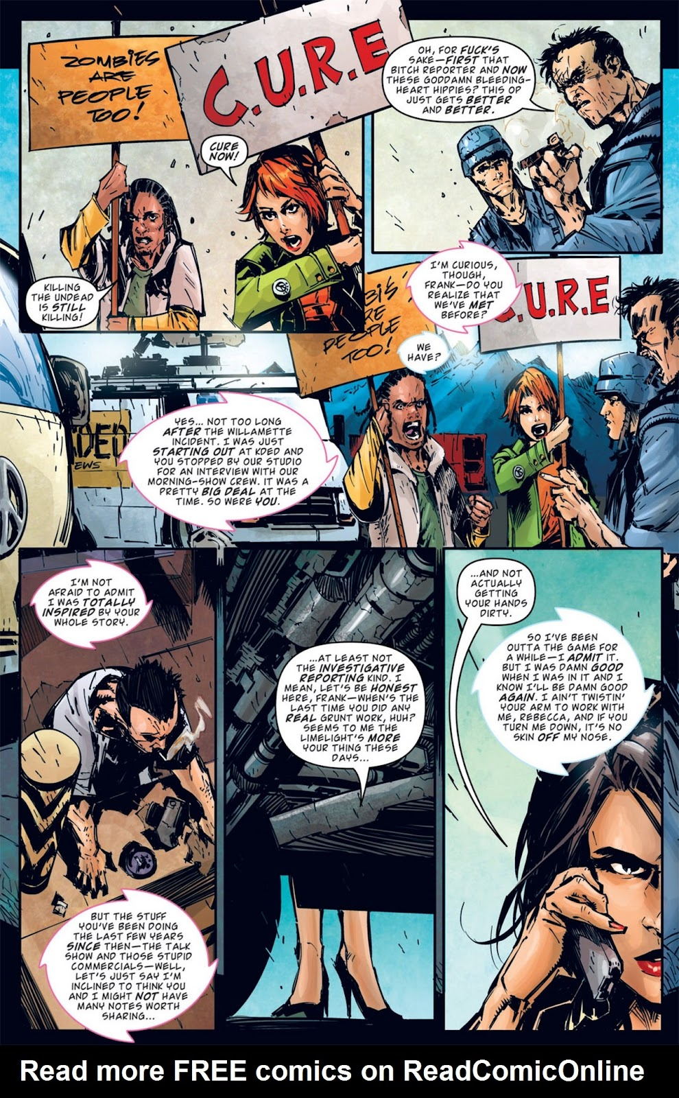 Read online Dead Rising: Road to Fortune comic -  Issue #2 - 14