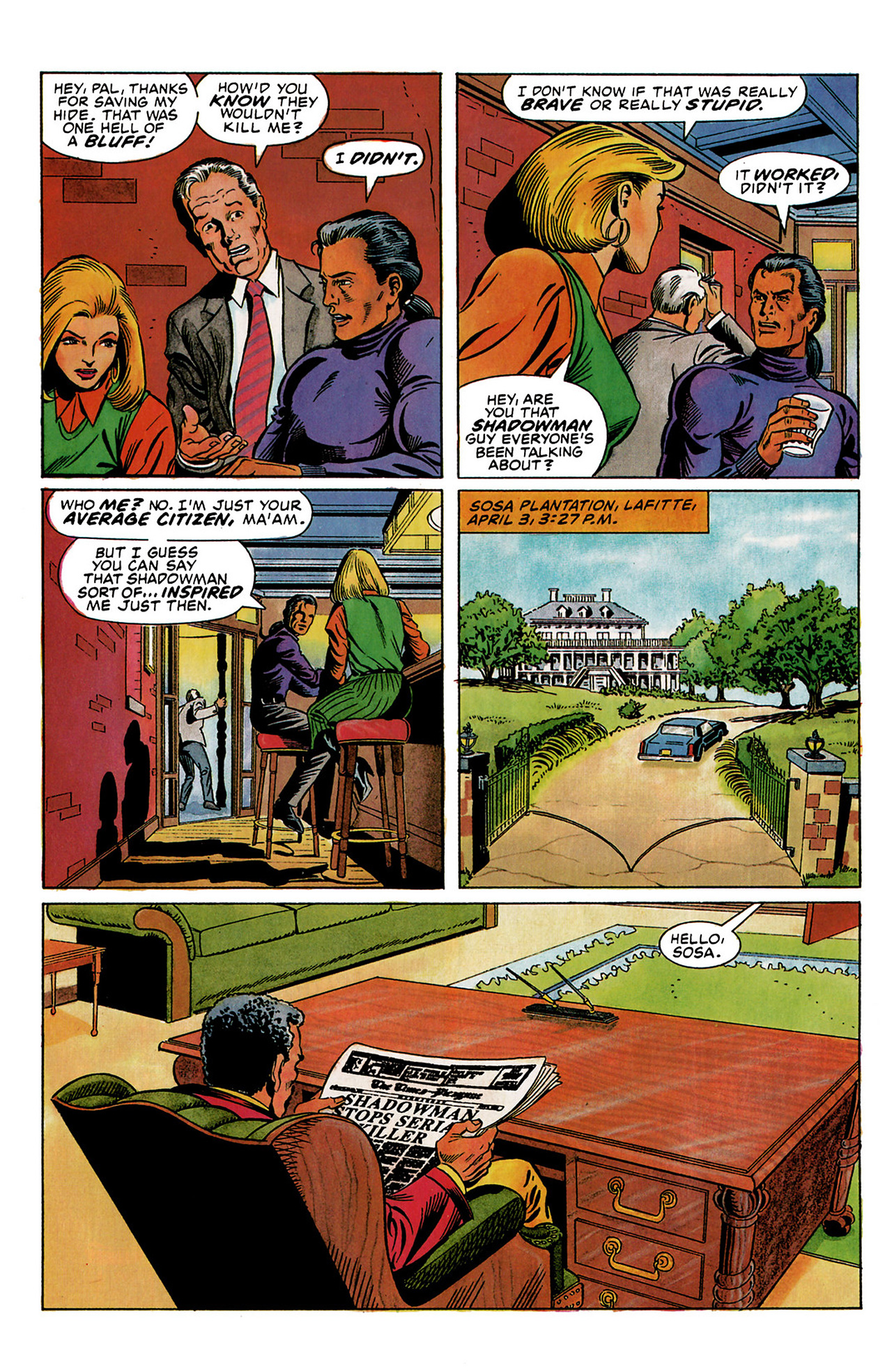 Read online Shadowman (1992) comic -  Issue #3 - 7