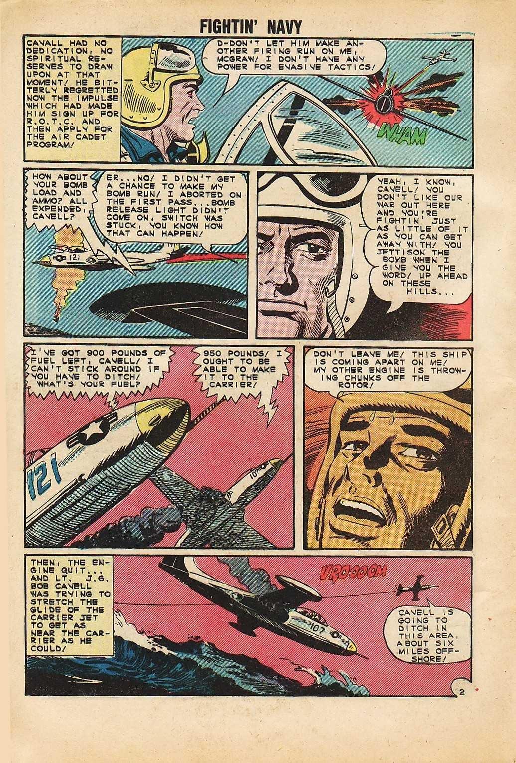 Read online Fightin' Navy comic -  Issue #116 - 4