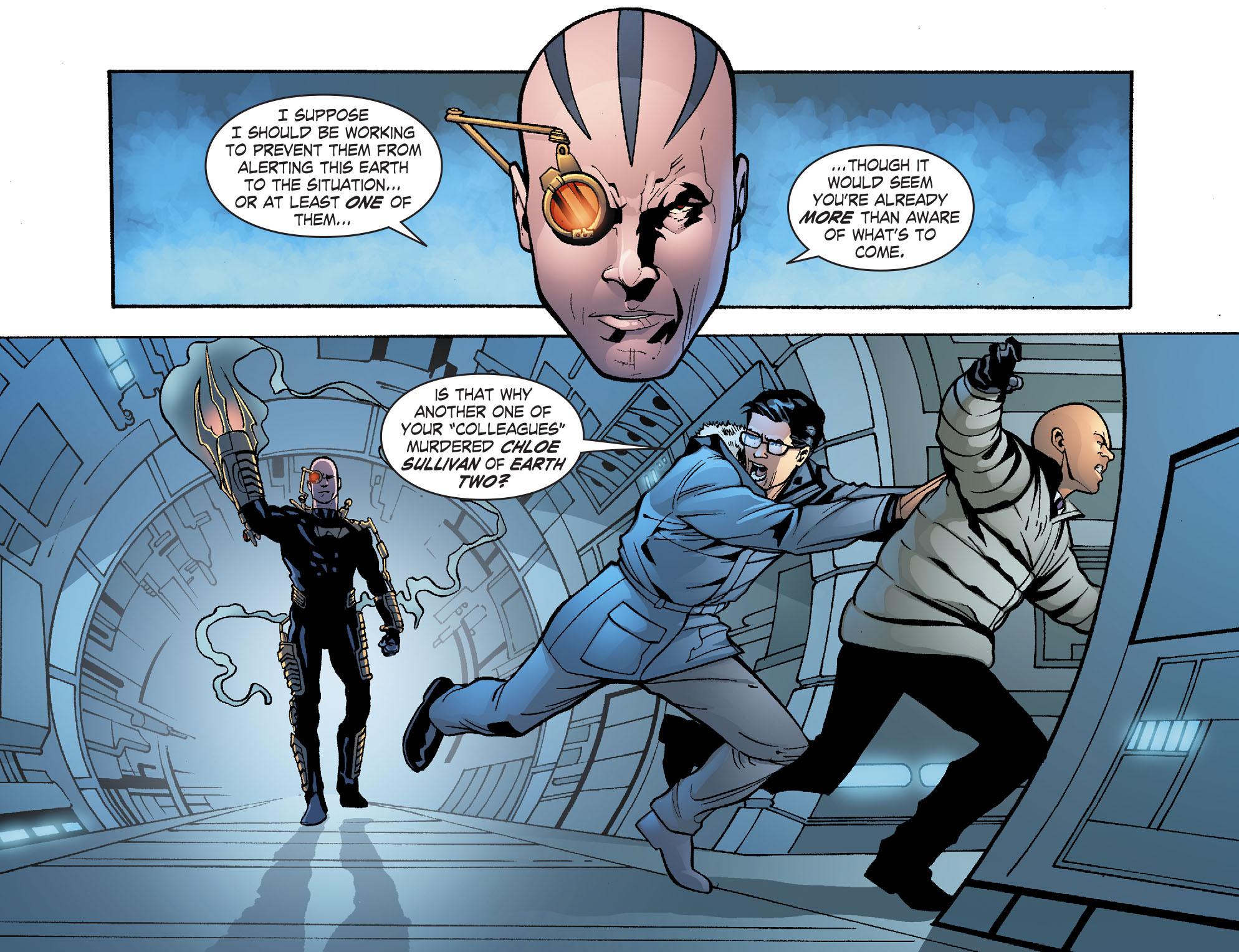Read online Smallville: Alien comic -  Issue #9 - 12