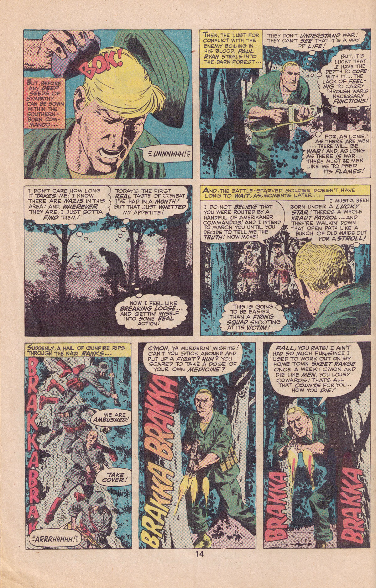 Read online Sgt. Fury comic -  Issue #140 - 16