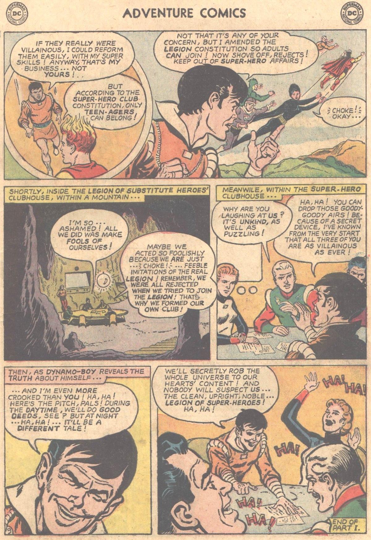 Read online Adventure Comics (1938) comic -  Issue #331 - 10