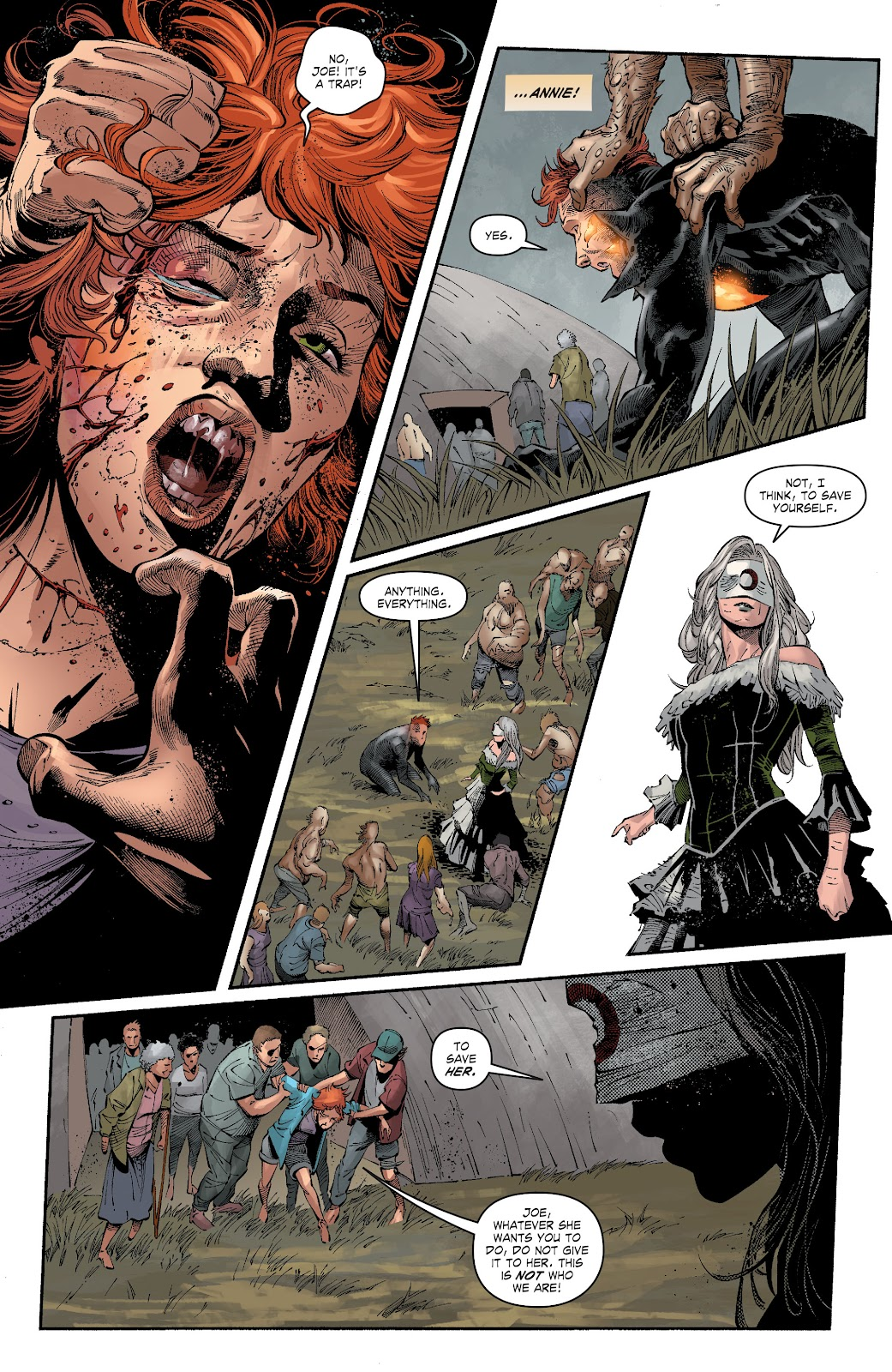 Read online The Curse of Brimstone: Ashes comic -  Issue # TPB (Part 1) - 63