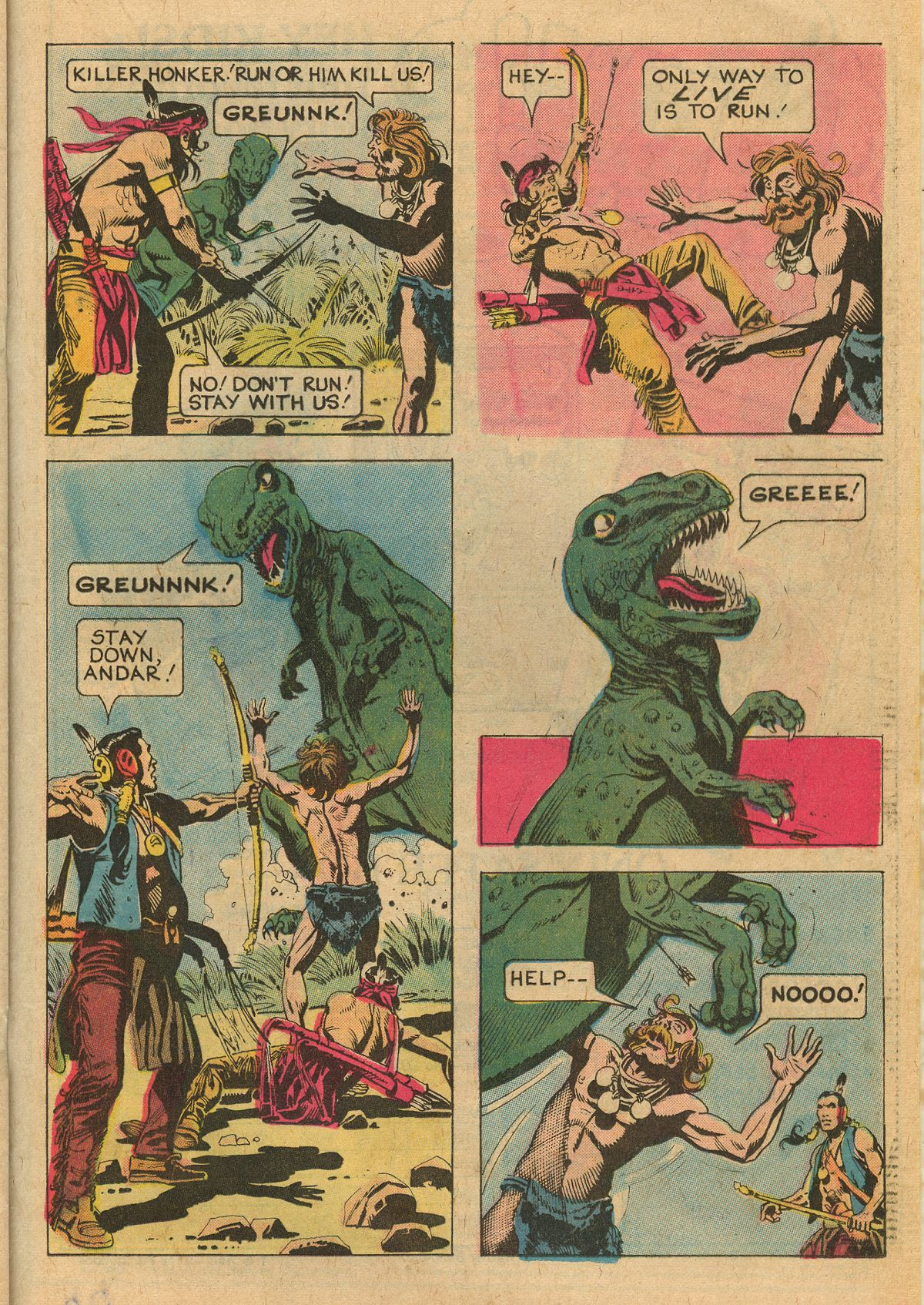 Read online Turok, Son of Stone comic -  Issue #111 - 21