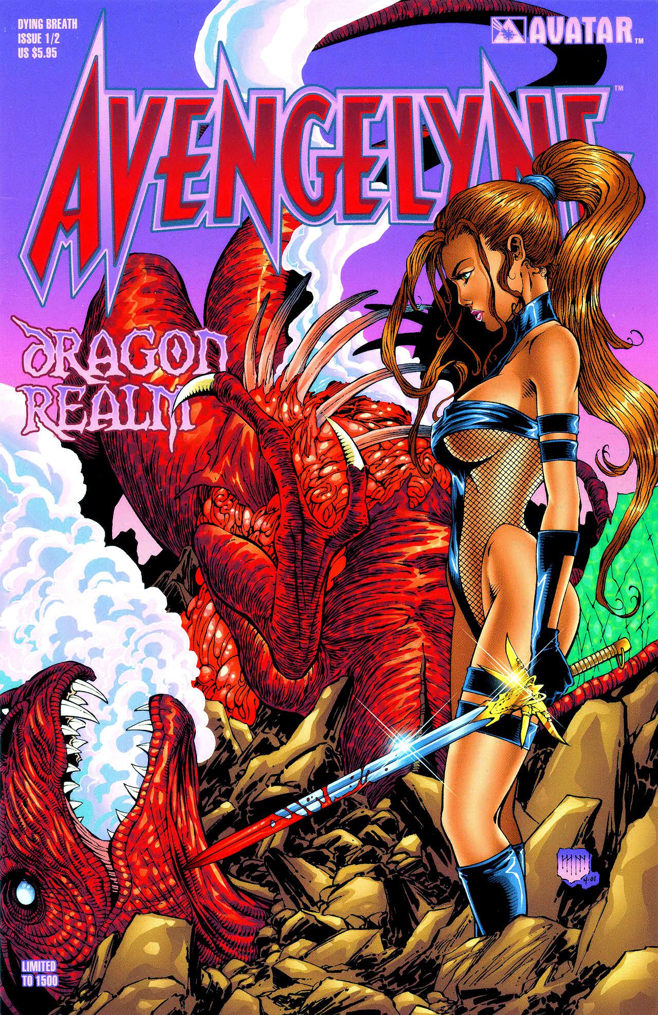 Read online Avengelyne: Dragon Realm comic -  Issue #0.5 - 4