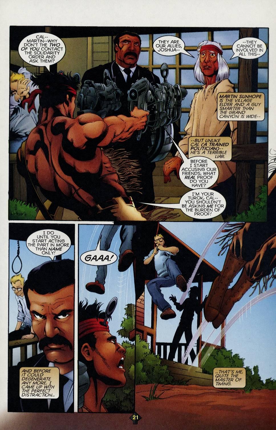 Read online Turok comic -  Issue #3 - 20