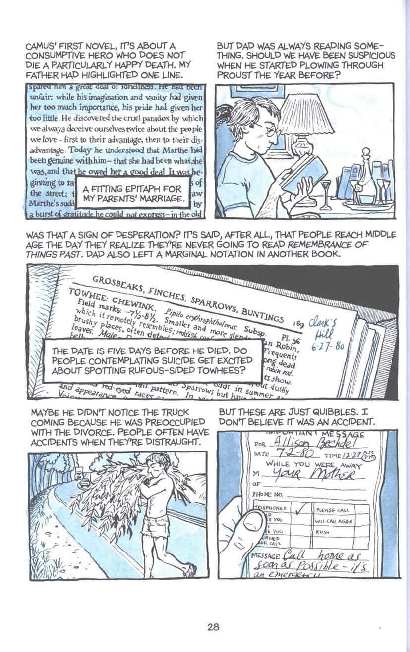 Read online Fun Home: A Family Tragicomic comic -  Issue # TPB - 35