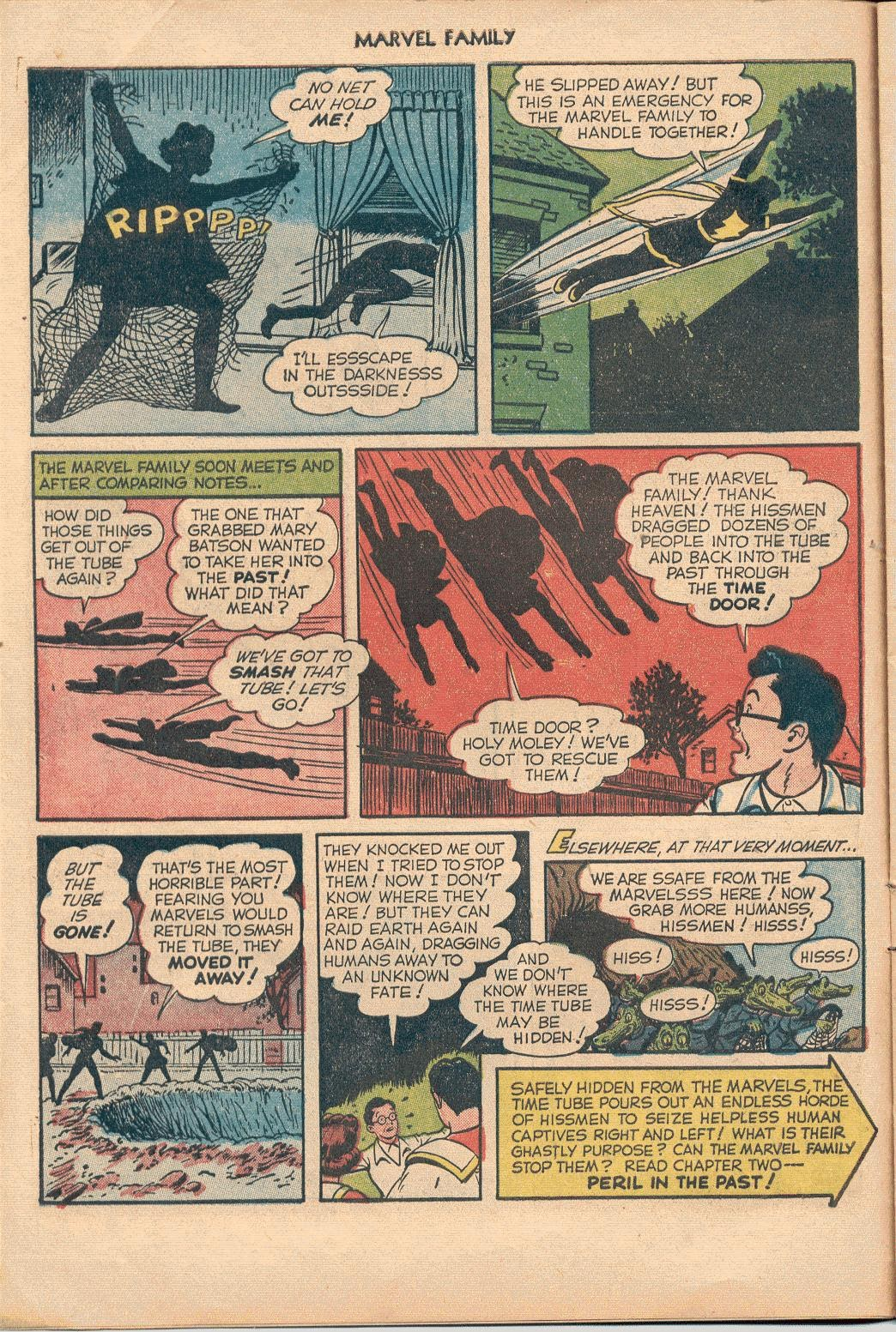 The Marvel Family issue 74 - Page 10
