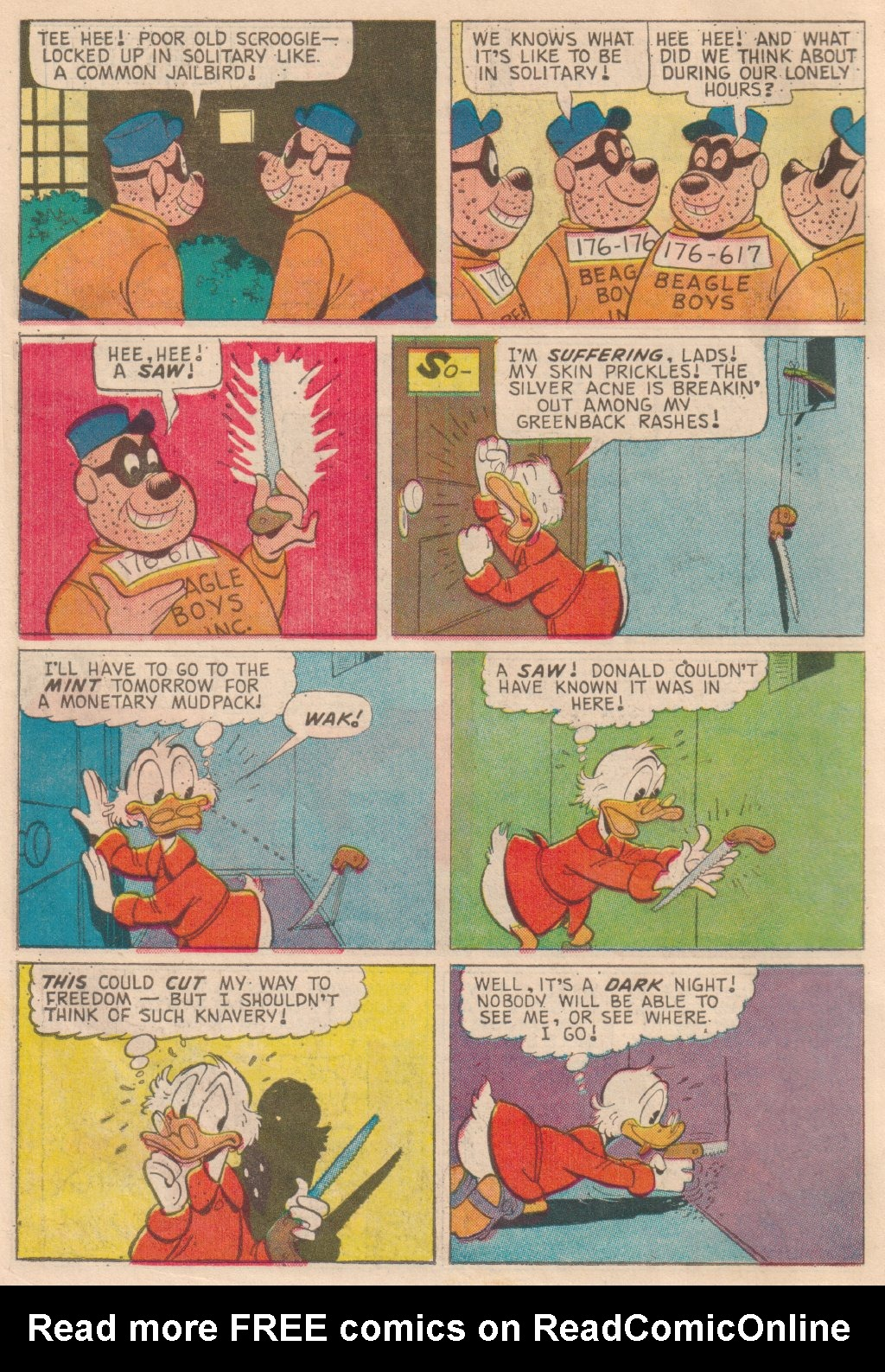 Read online Uncle Scrooge (1953) comic -  Issue #63 - 10