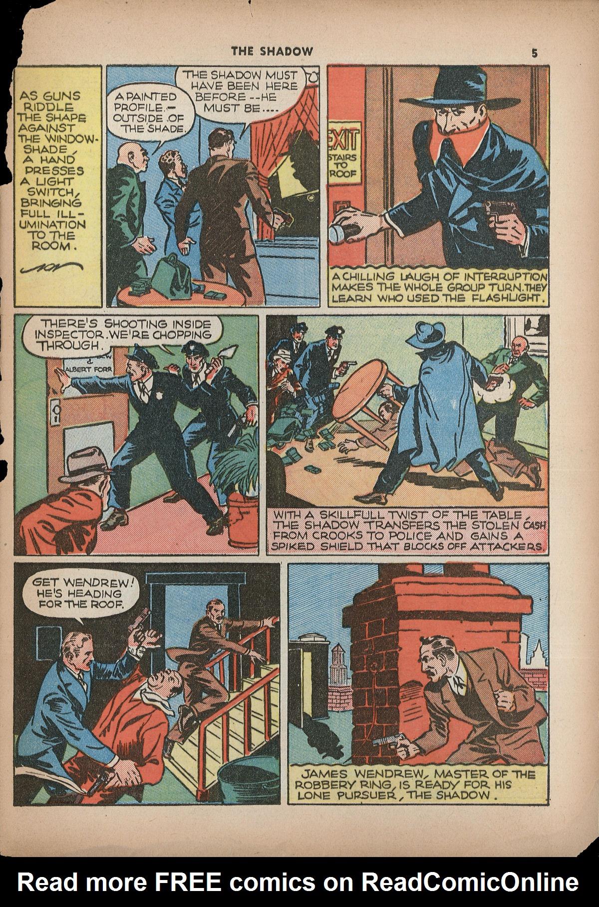 Read online Shadow Comics comic -  Issue #2 - 8
