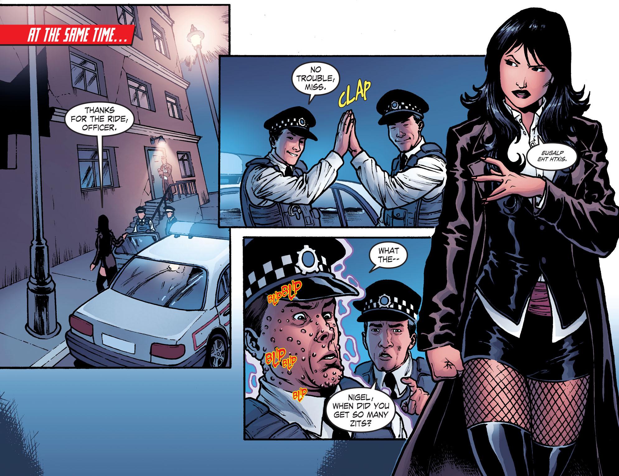 Read online Smallville: Harbinger comic -  Issue #2 - 9