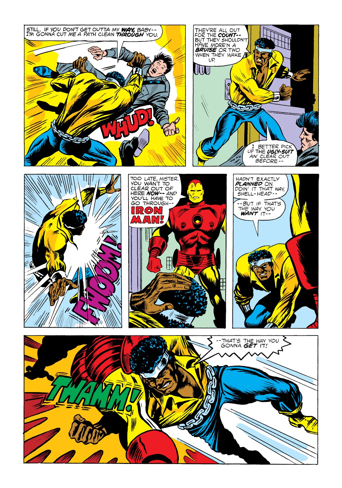 Read online Marvel Masterworks: Luke Cage, Power Man comic -  Issue # TPB 2 (Part 1) - 20