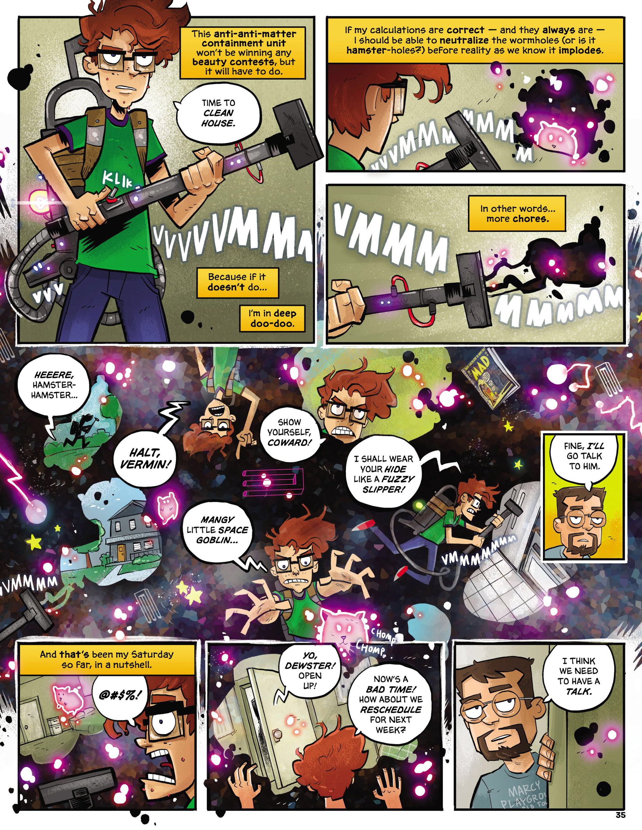 Read online MAD comic -  Issue #546 - 28