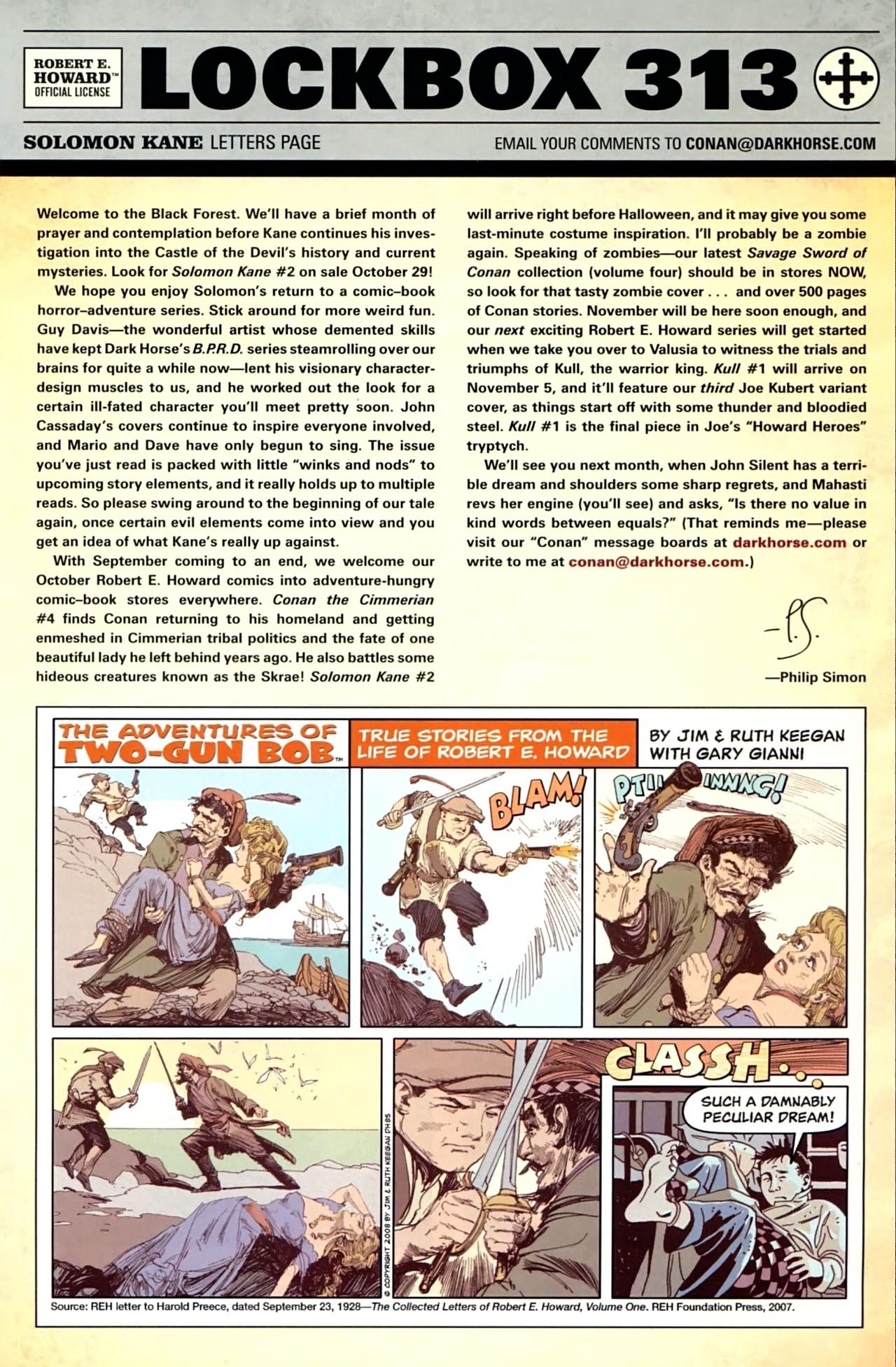 Read online Solomon Kane comic -  Issue #1 - 26