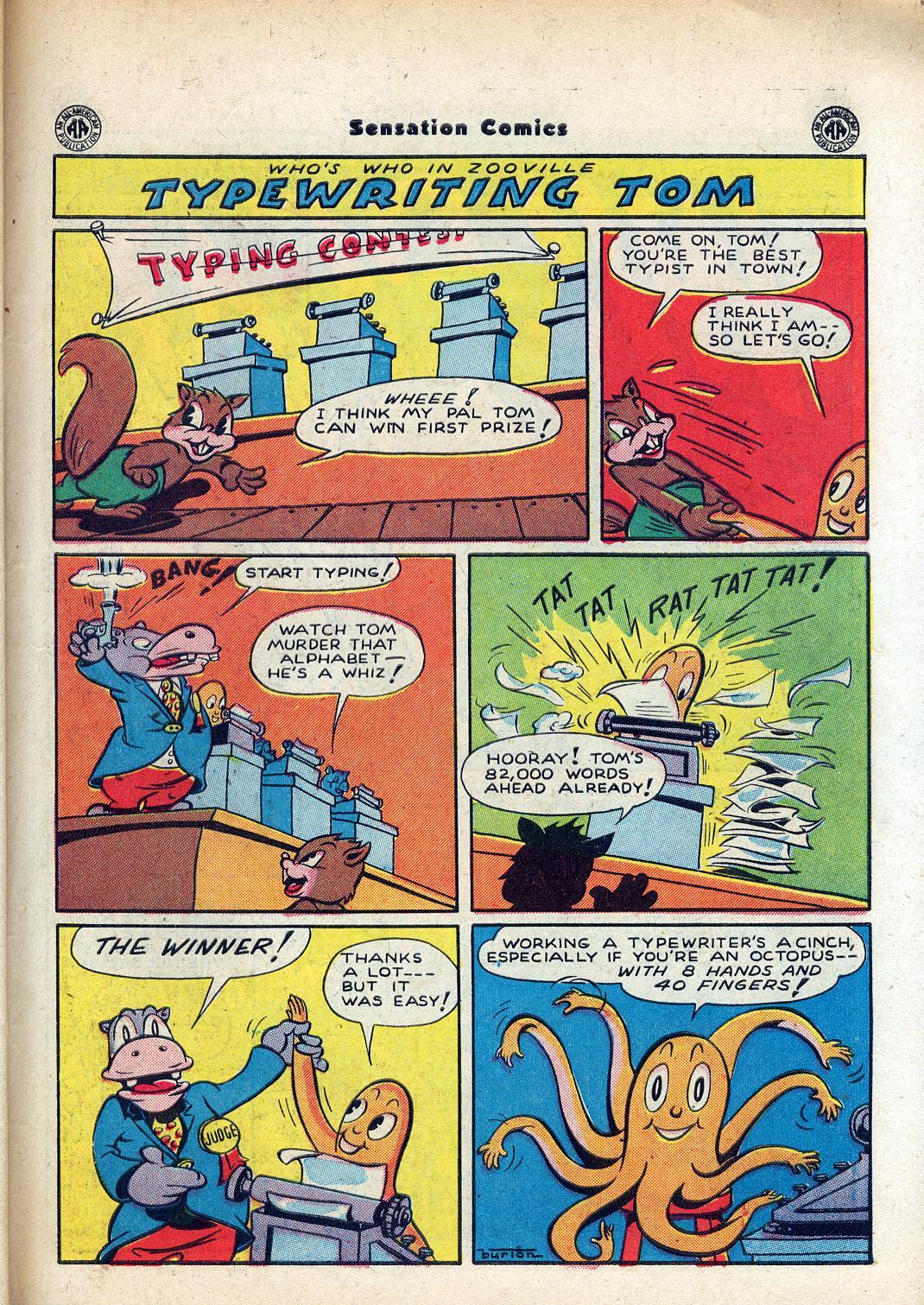 Read online Sensation (Mystery) Comics comic -  Issue #45 - 41