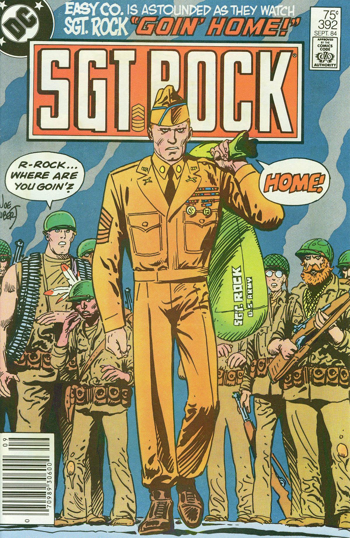 Read online Sgt. Rock comic -  Issue #392 - 1