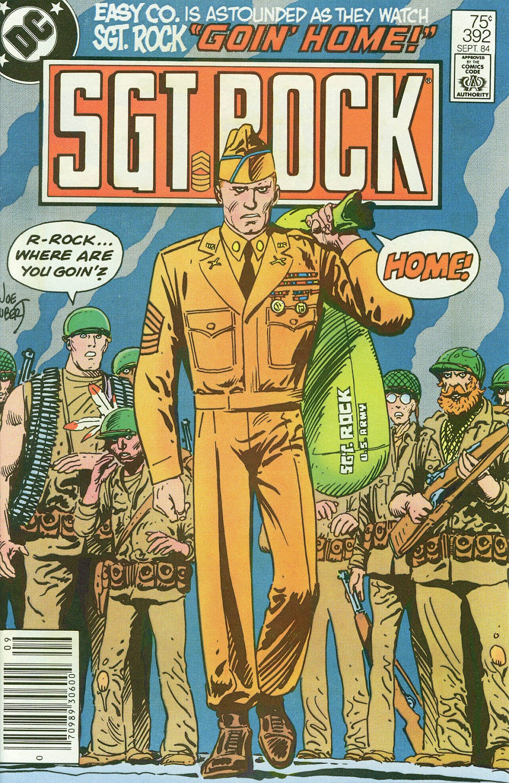 Sgt. Rock issue 392 - Page 1