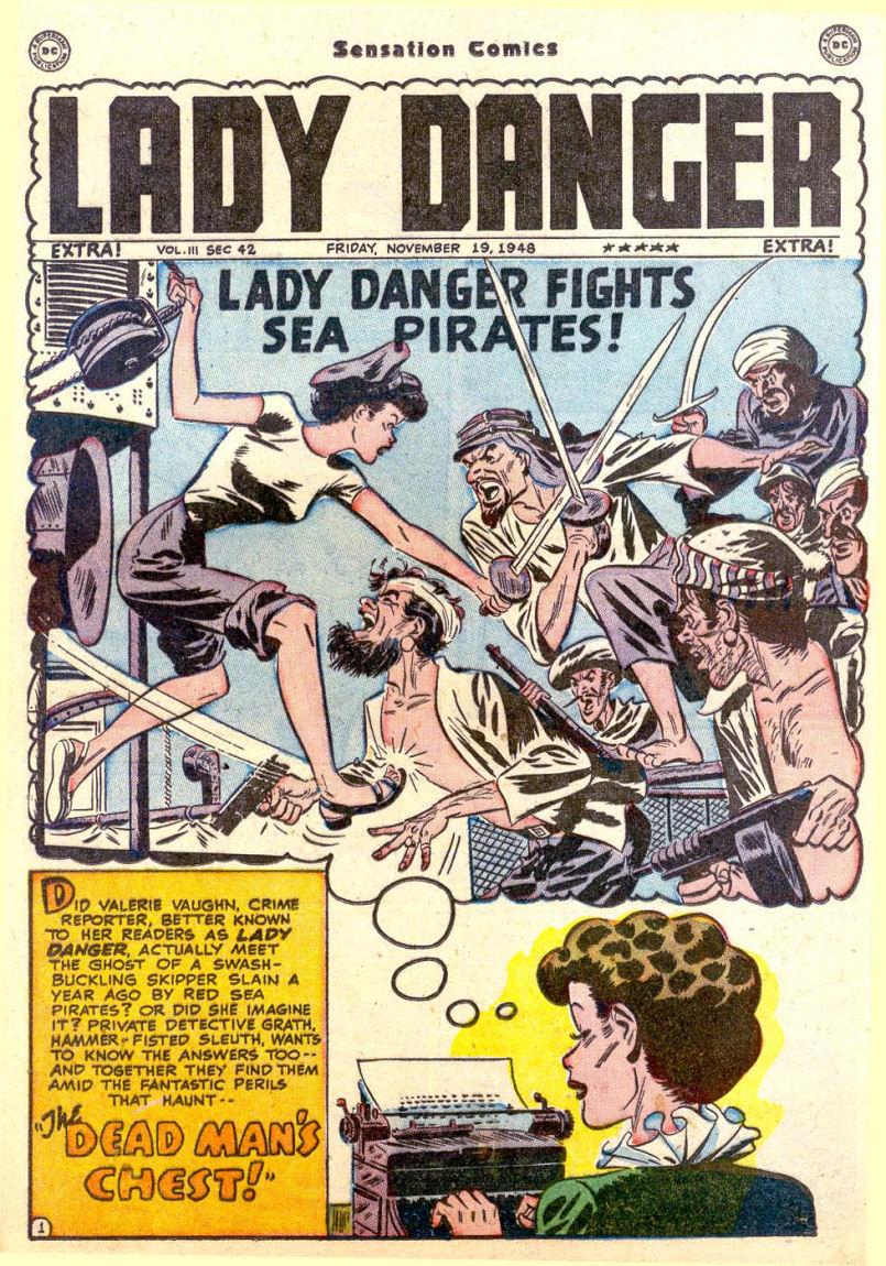 Read online Sensation (Mystery) Comics comic -  Issue #85 - 16