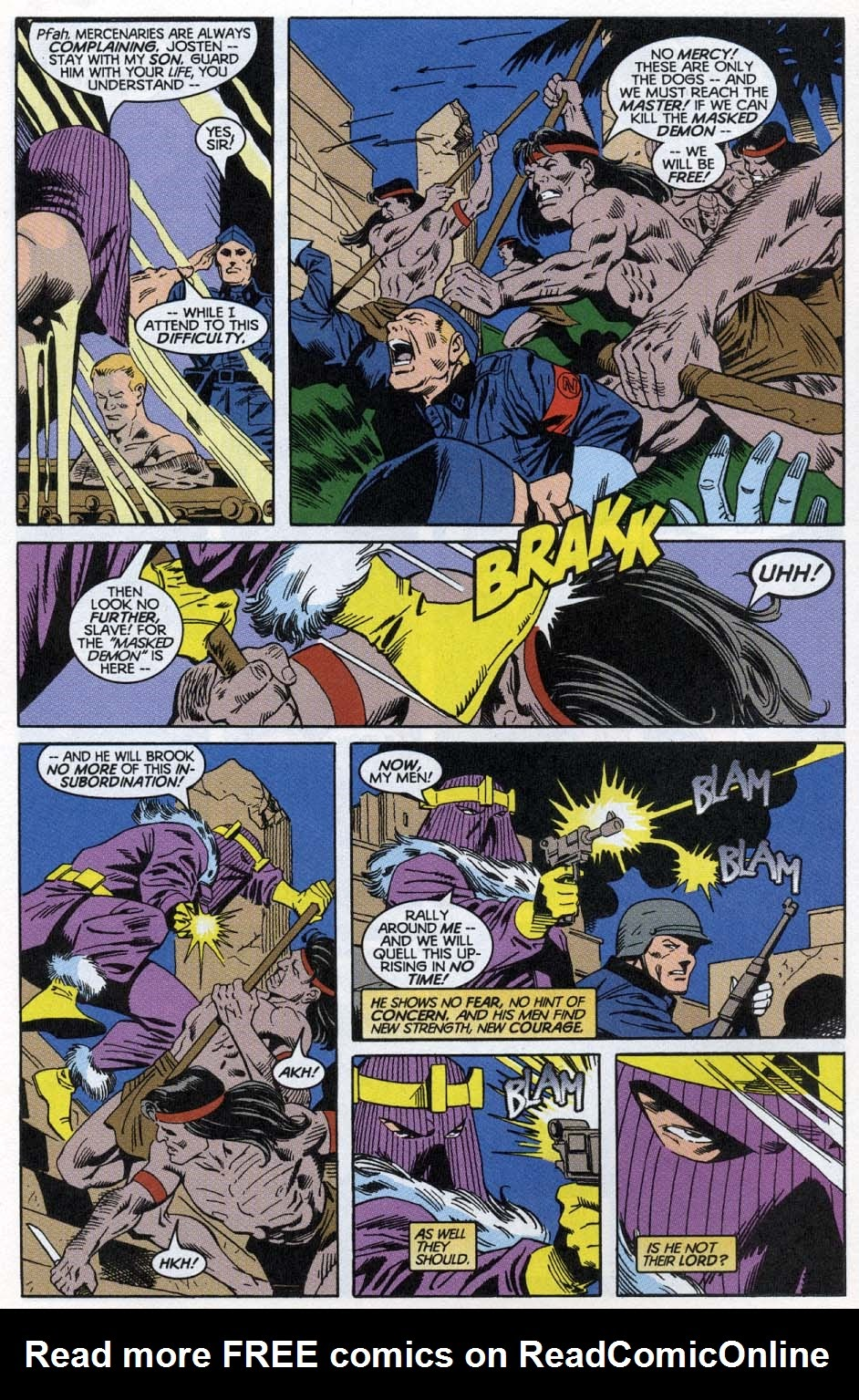 Thunderbolts: Distant Rumblings issue Full - Page 5