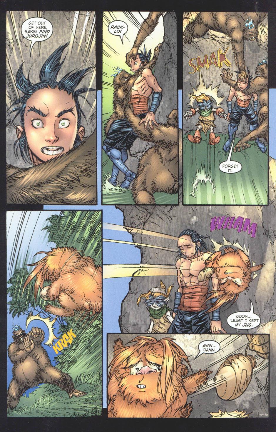 Read online Ninja Boy comic -  Issue #5 - 18