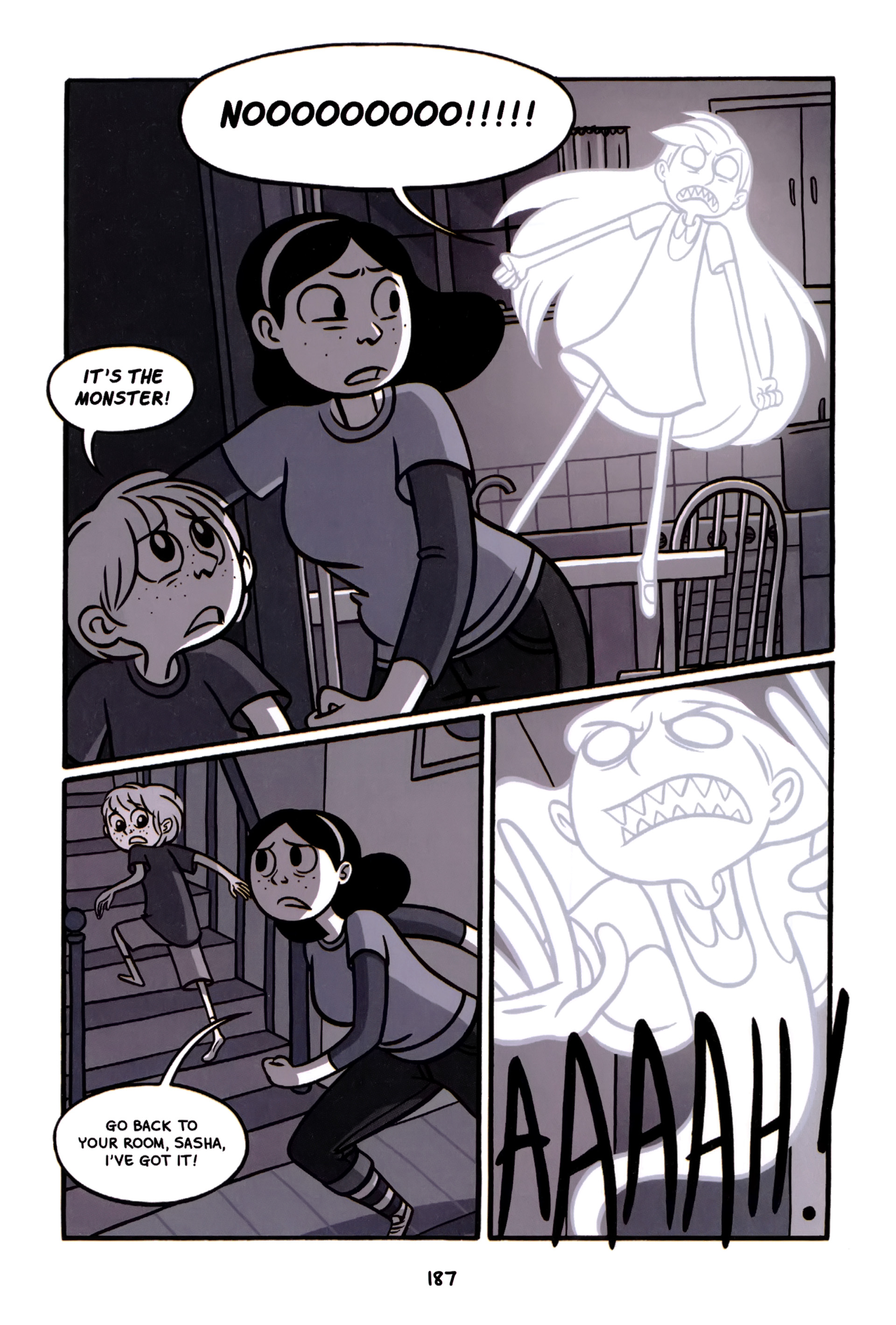 Read online Anya's Ghost comic -  Issue #1 - 188
