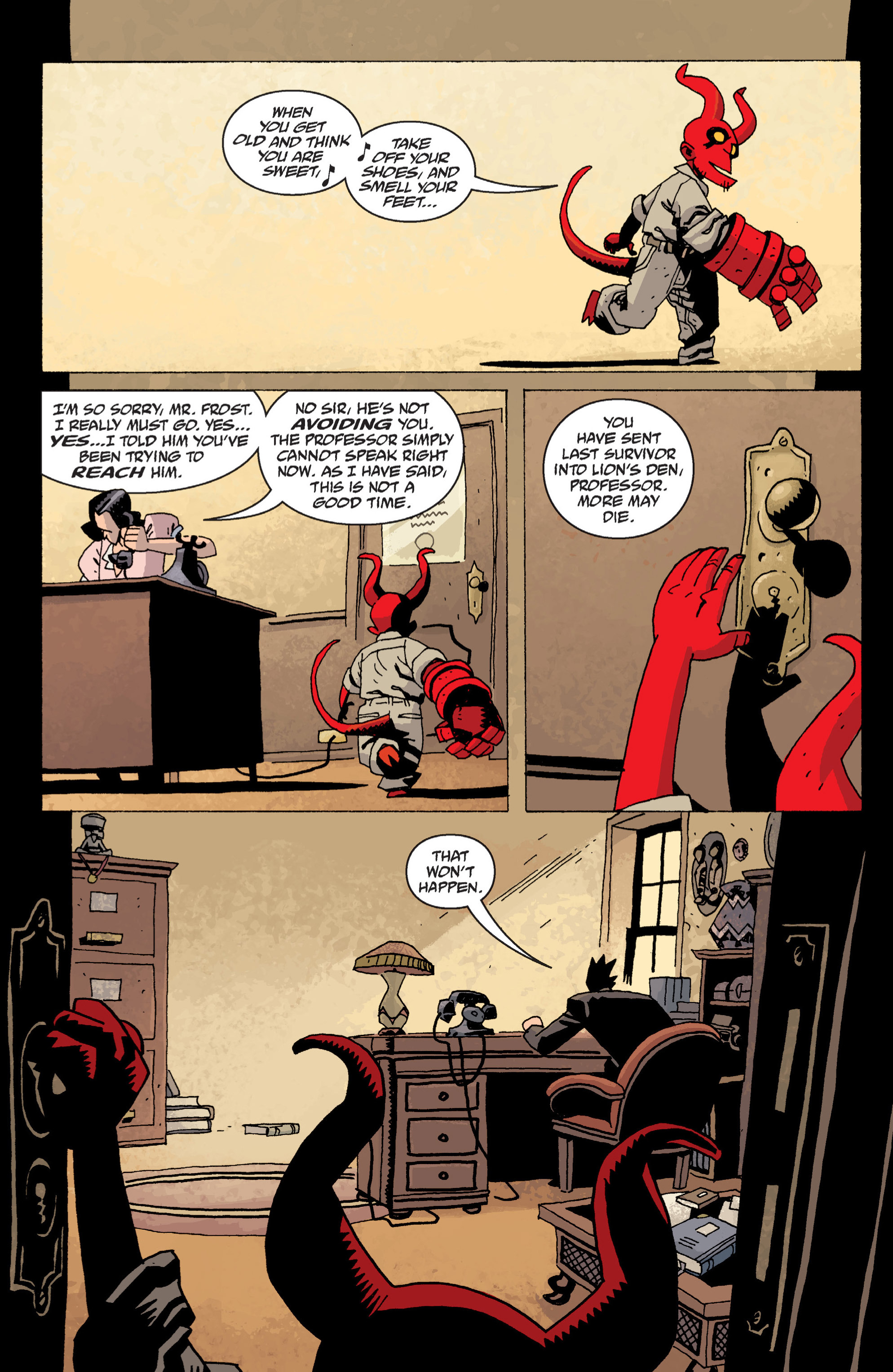 Read online B.P.R.D. (2003) comic -  Issue # TPB 13 - 96