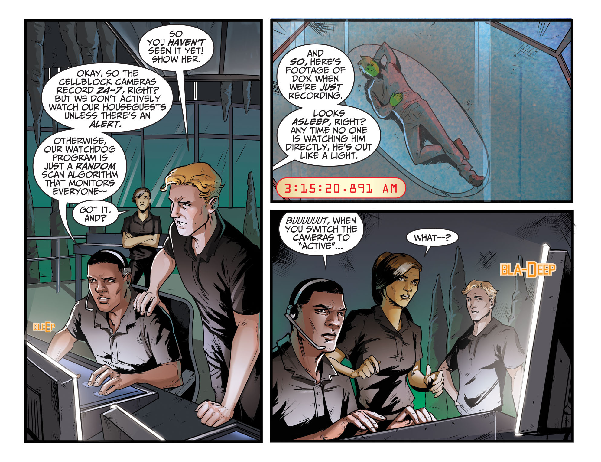 Read online Adventures of Supergirl comic -  Issue #8 - 4