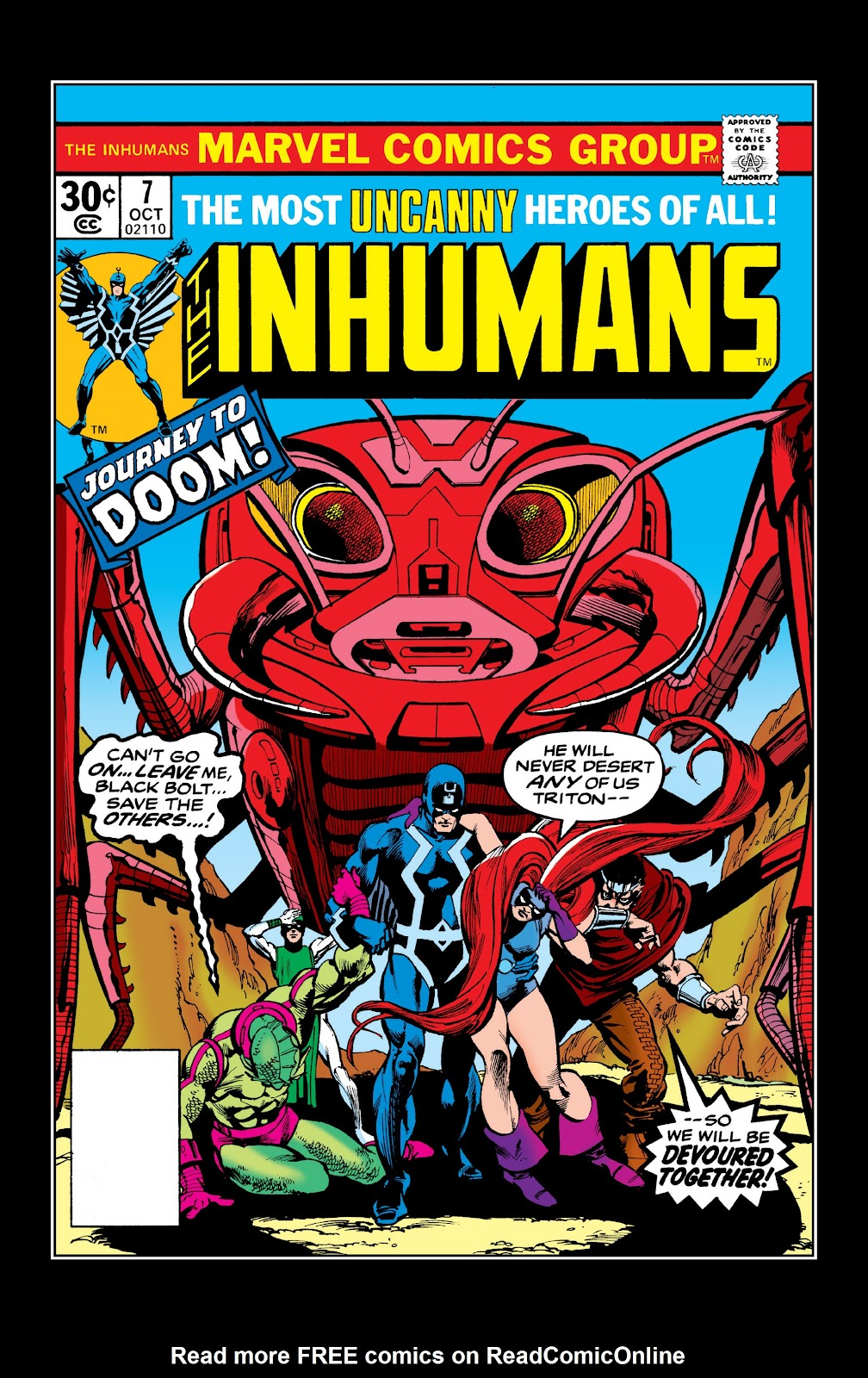 Read online Marvel Masterworks: The Inhumans comic -  Issue # TPB 2 (Part 2) - 18