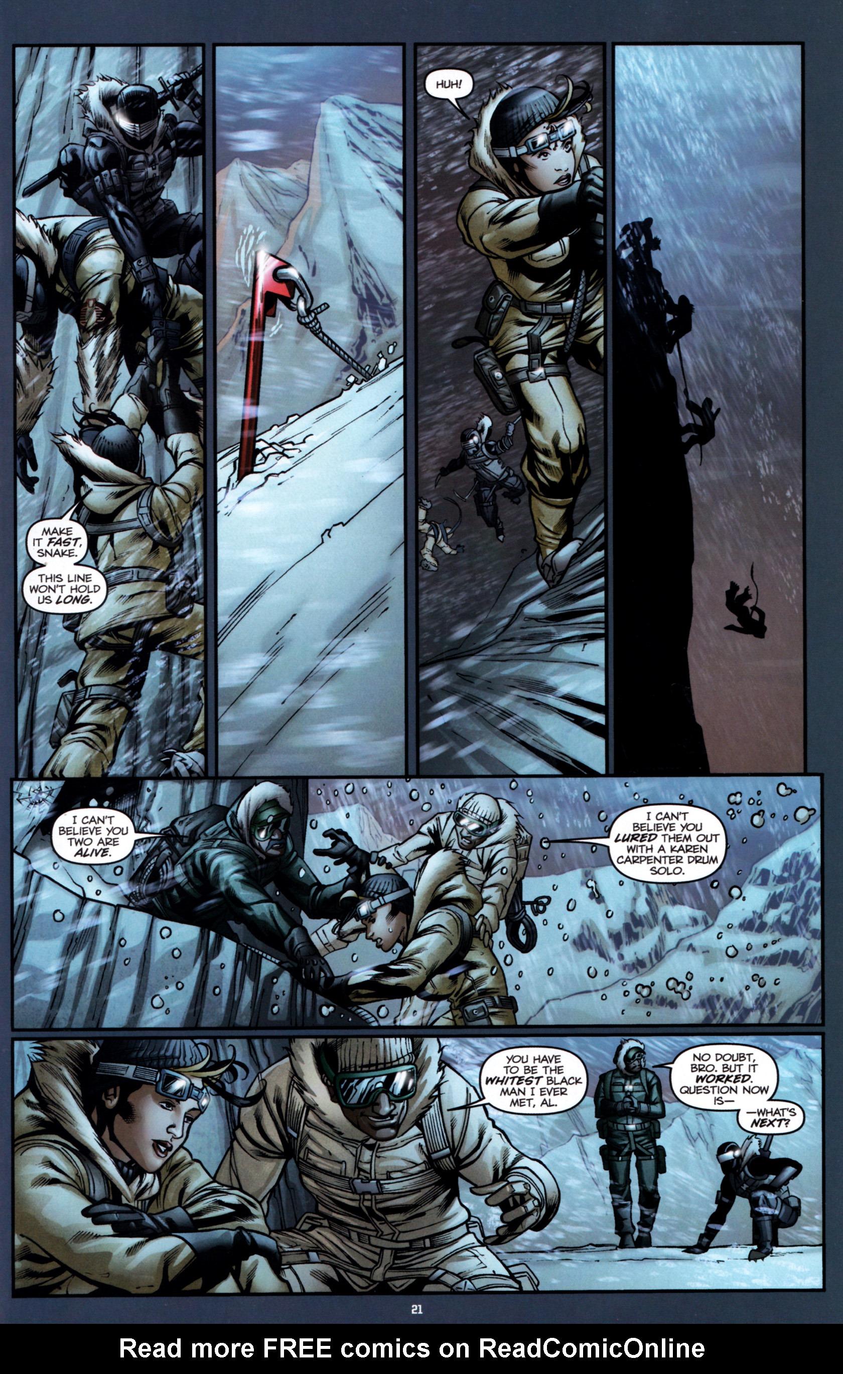Read online G.I. Joe: Snake Eyes comic -  Issue #1 - 26