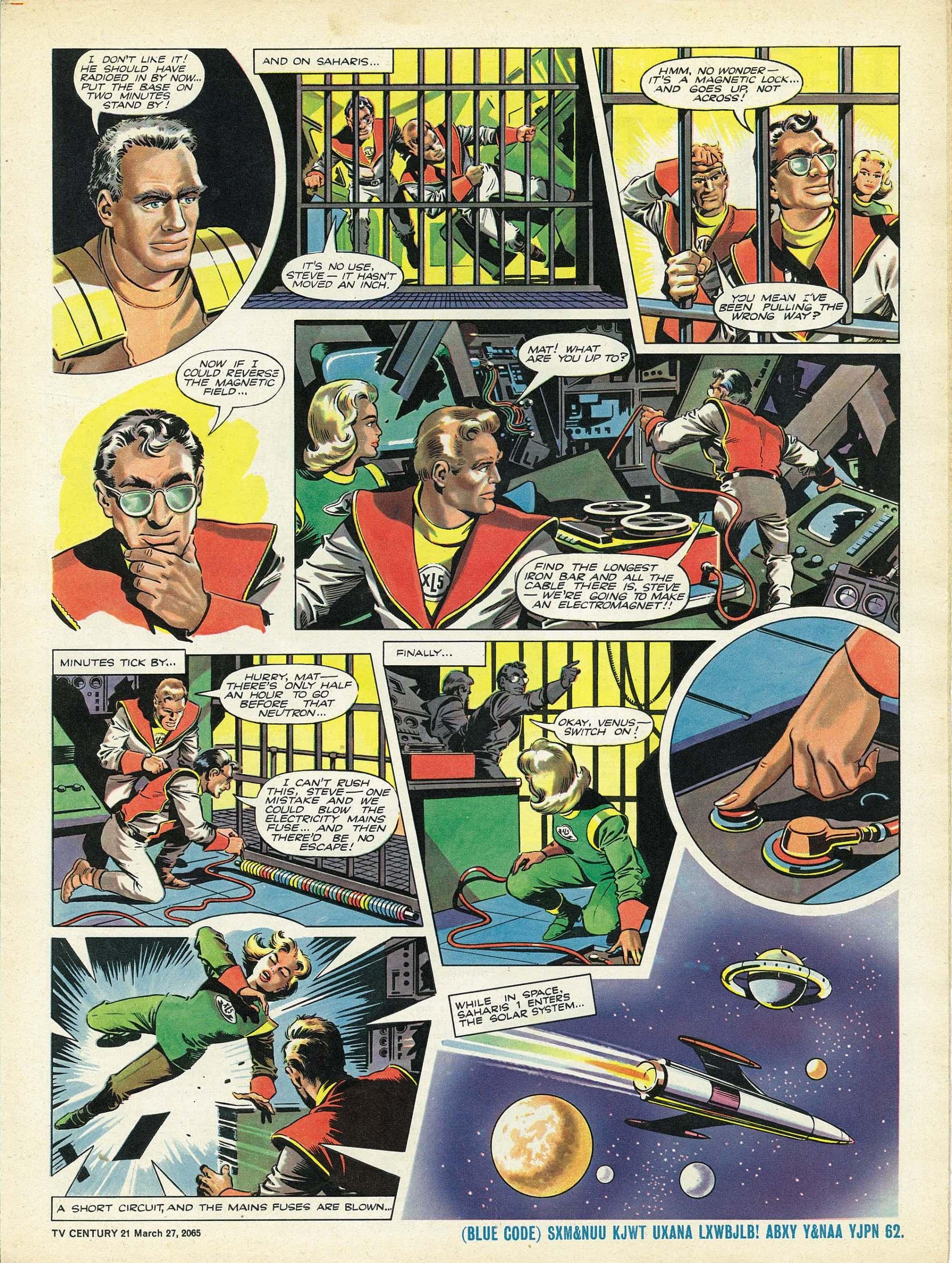 Read online TV Century 21 (TV 21) comic -  Issue #10 - 5