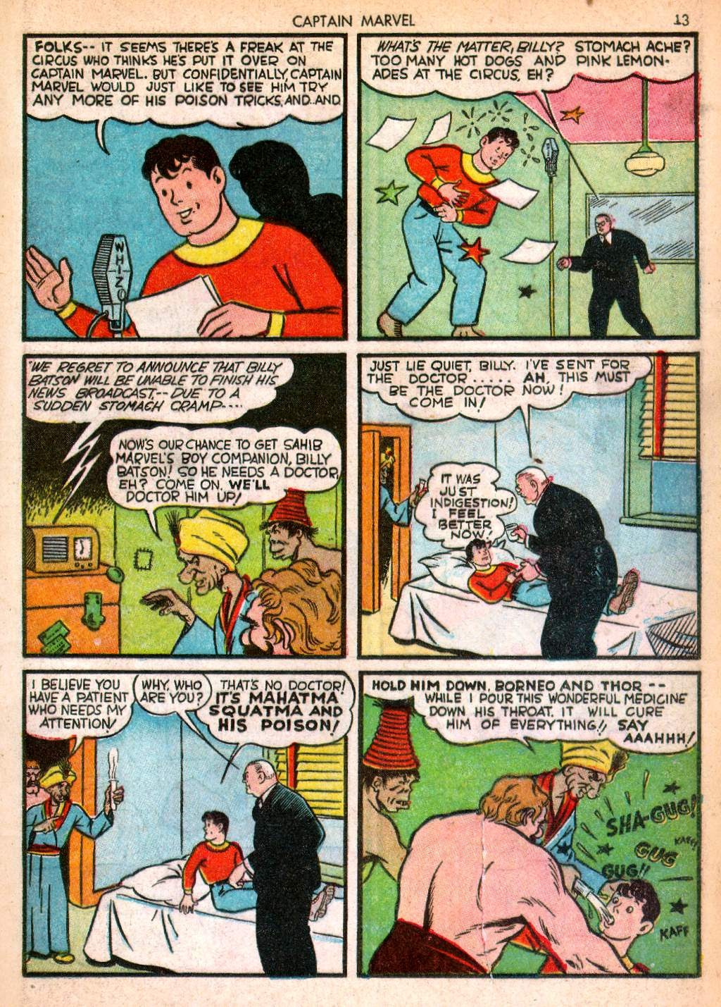 Captain Marvel Adventures issue 10 - Page 13
