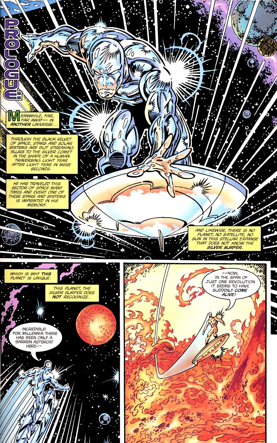 Read online Silver Surfer/Superman comic -  Issue # Full - 4