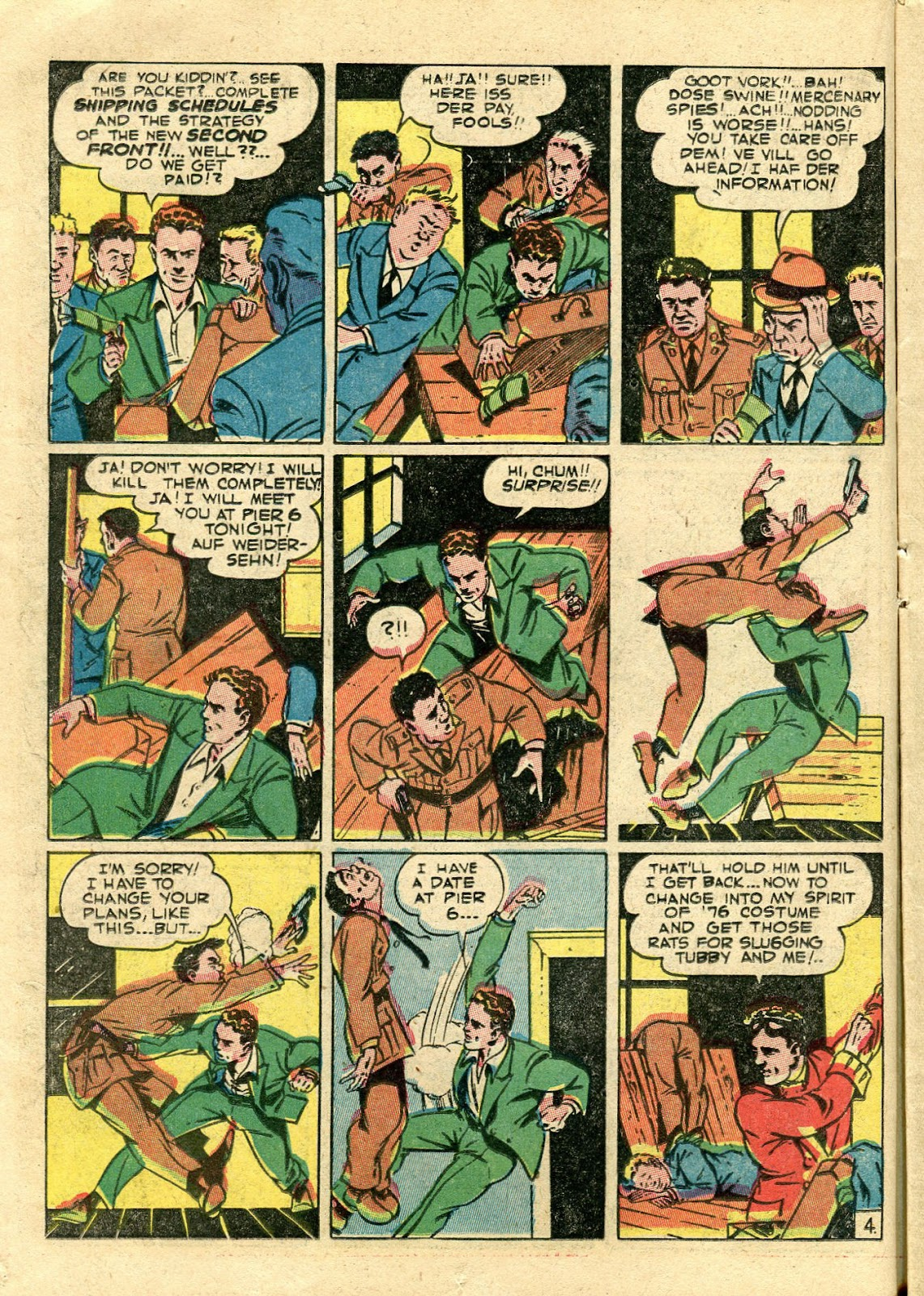 Green Hornet Comics issue 11 - Page 15