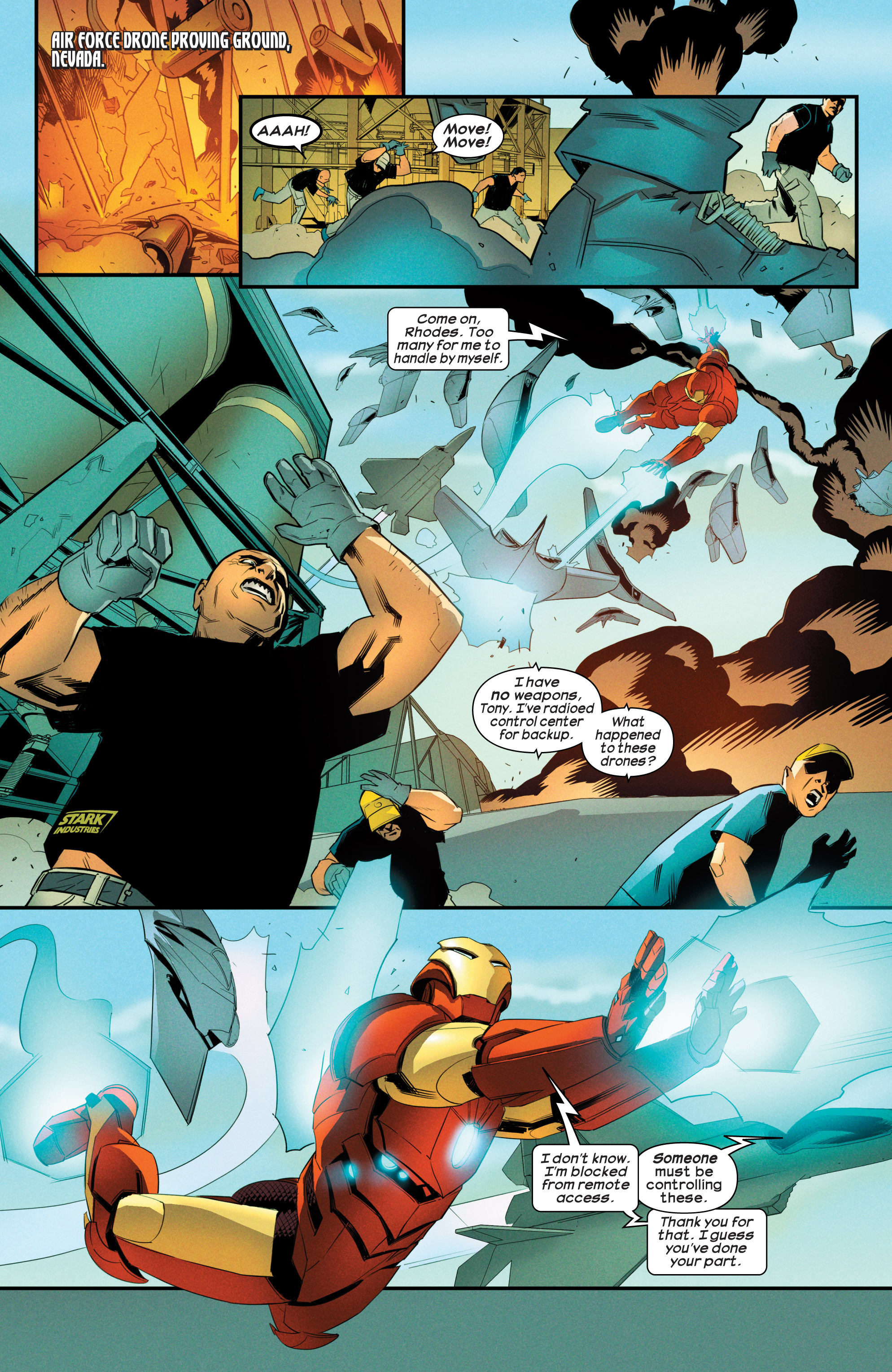 Read online Ultimate Comics Iron Man comic -  Issue #3 - 3