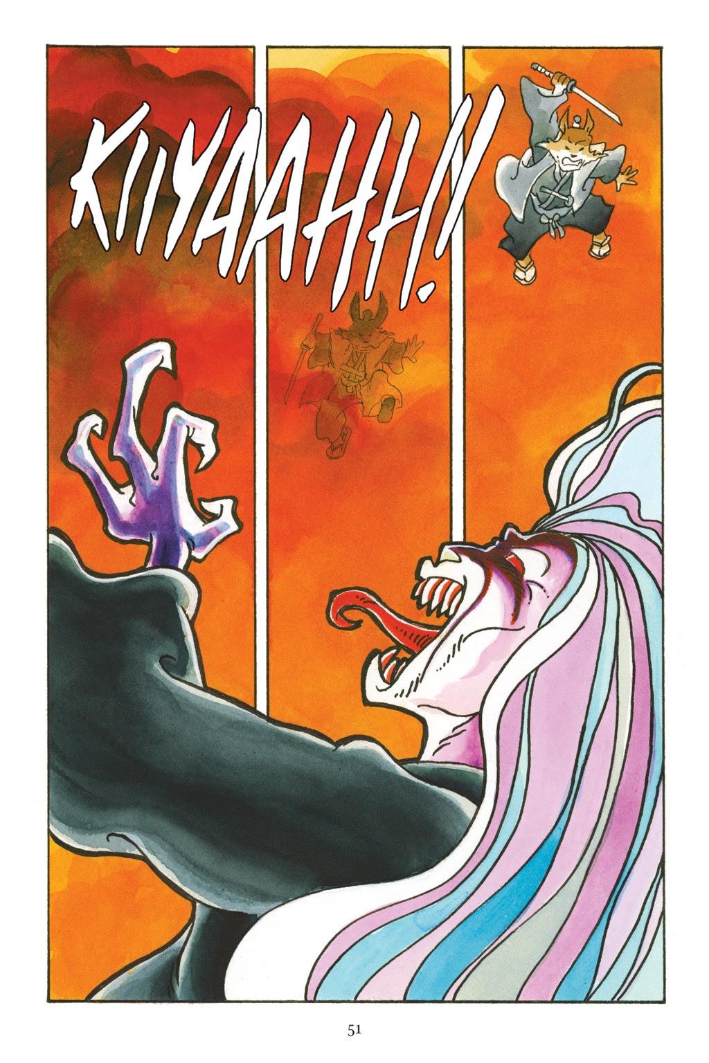 Read online Usagi Yojimbo: Yokai comic -  Issue # Full - 48