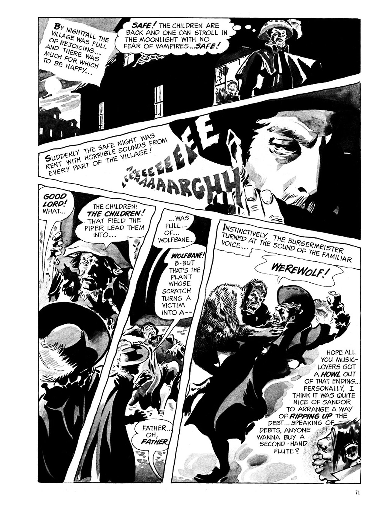 Read online Eerie Archives comic -  Issue # TPB 1 - 72