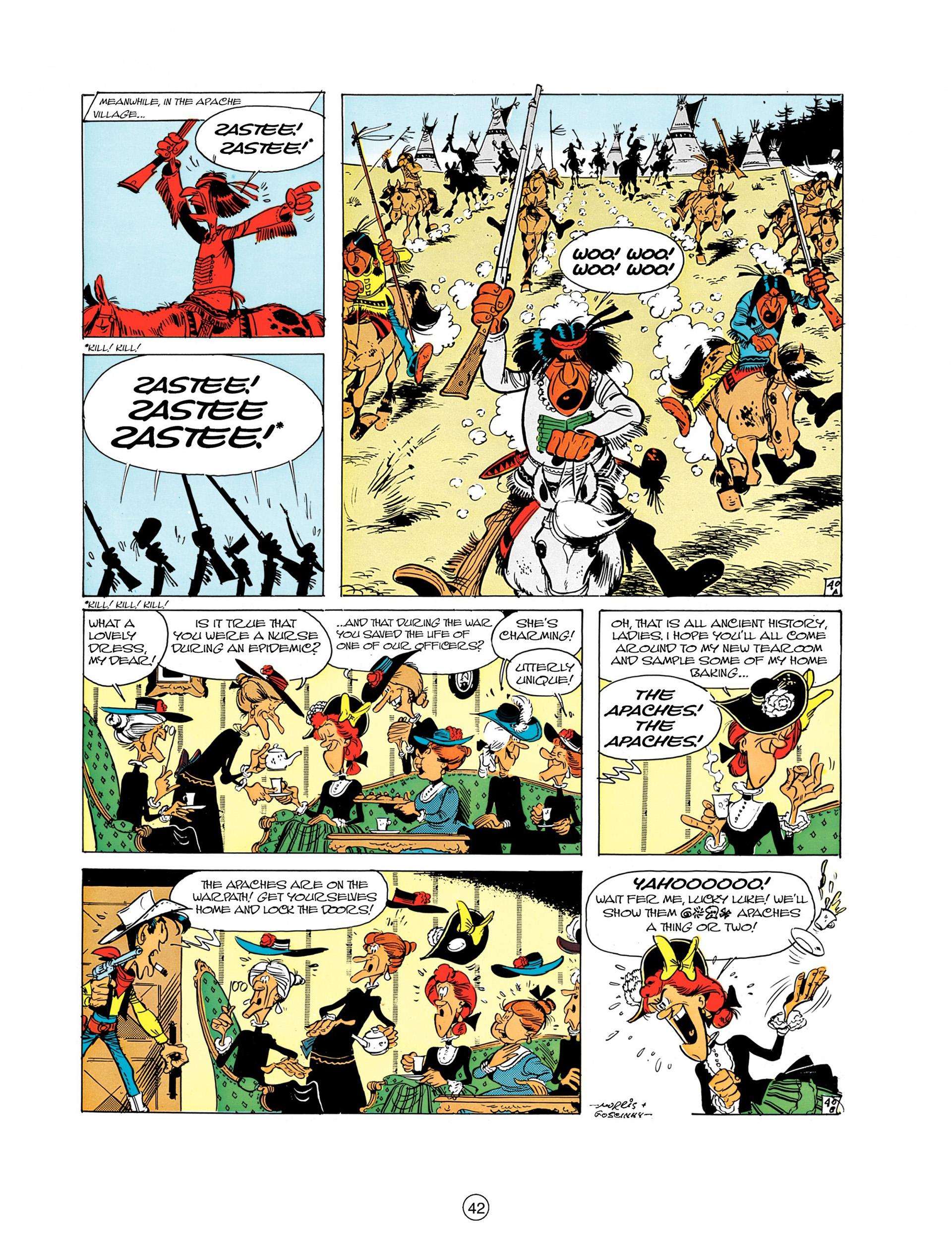 Read online A Lucky Luke Adventure comic -  Issue #8 - 42