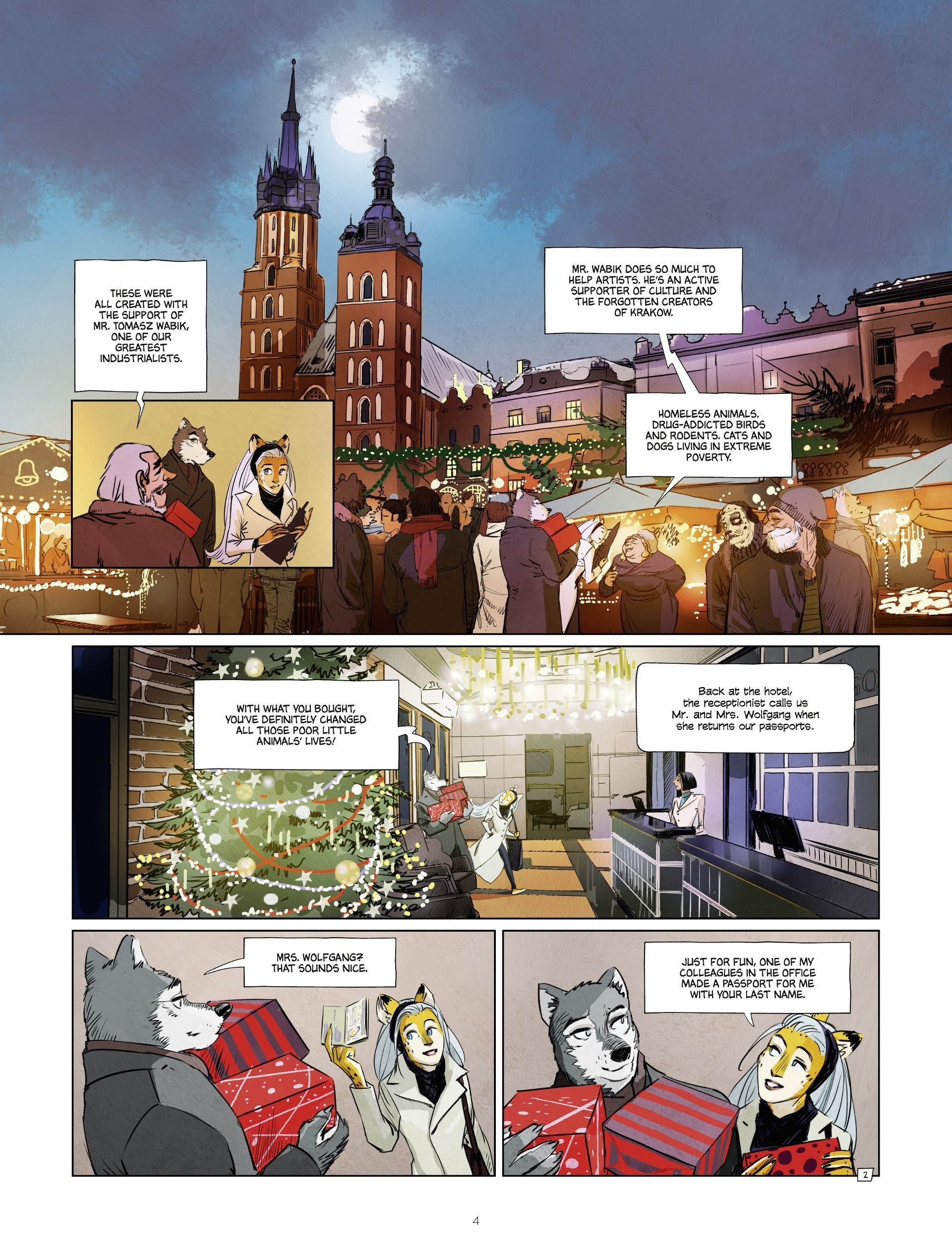 Read online Jack Wolfgang comic -  Issue #3 - 6