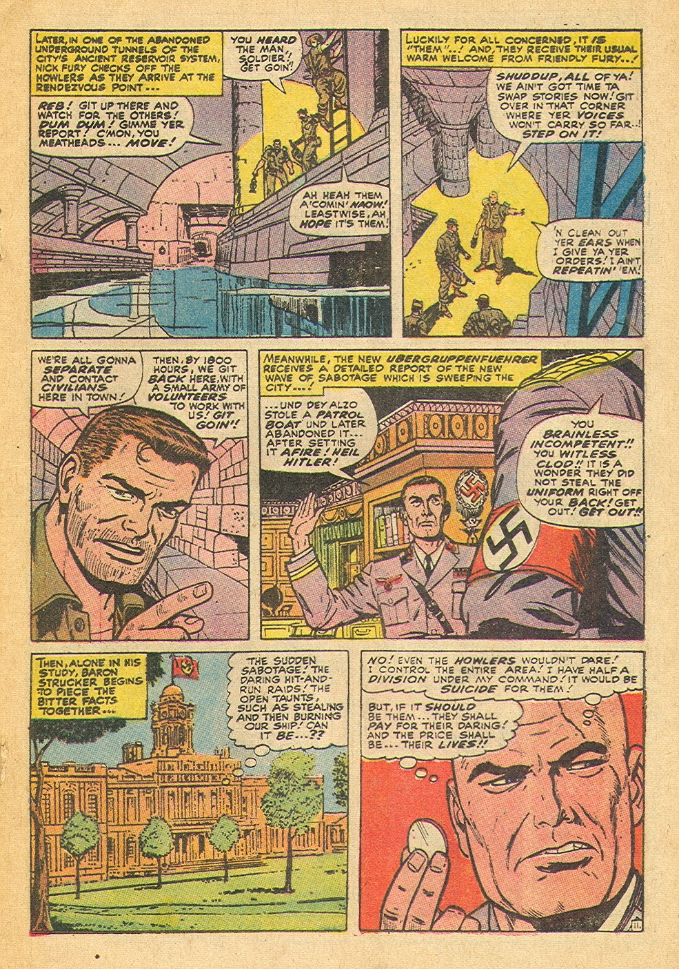Read online Sgt. Fury comic -  Issue #91 - 17